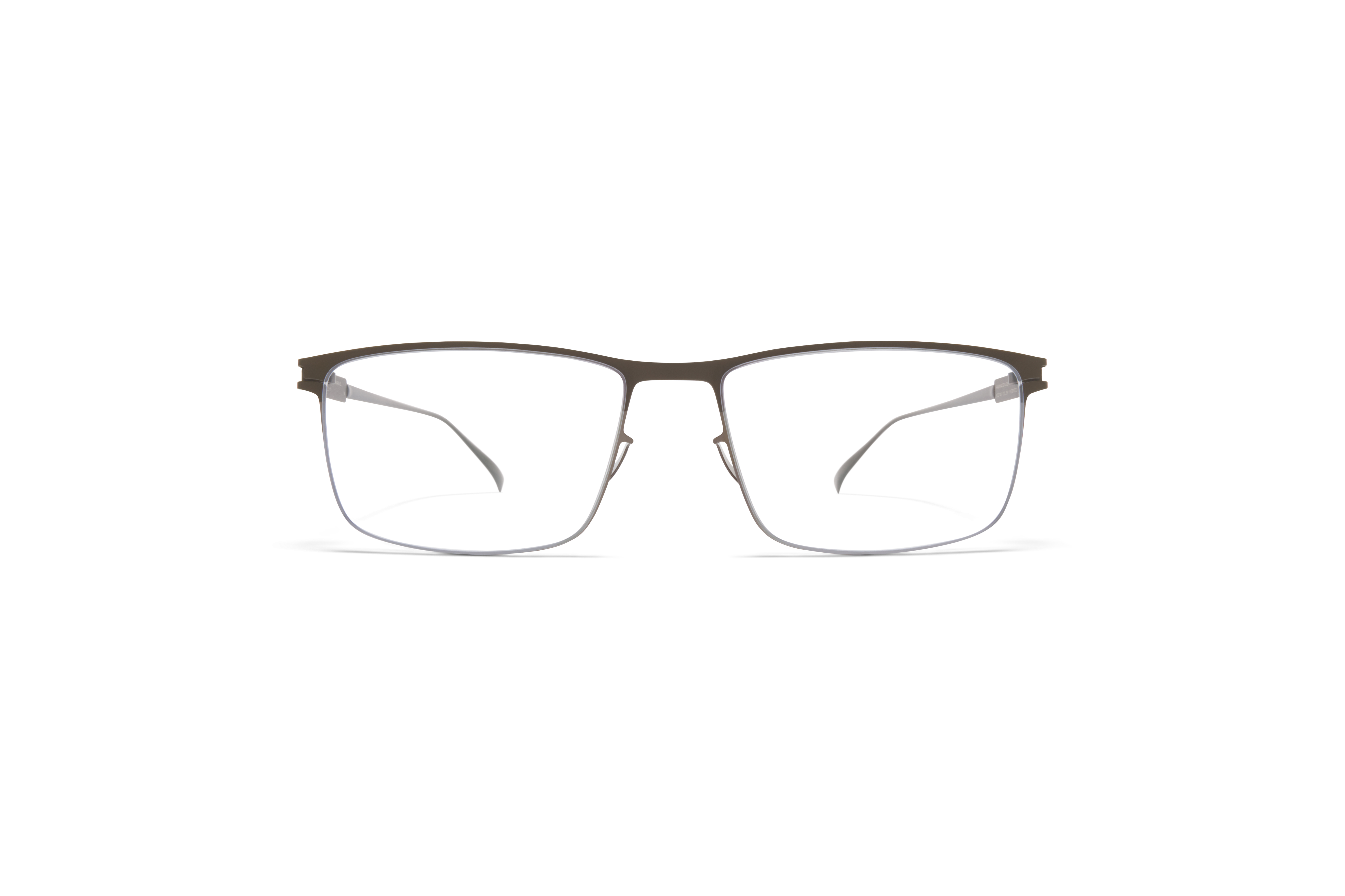 MYKITA No1 Rx Manuel Shiny Graphite Camou Green Clear