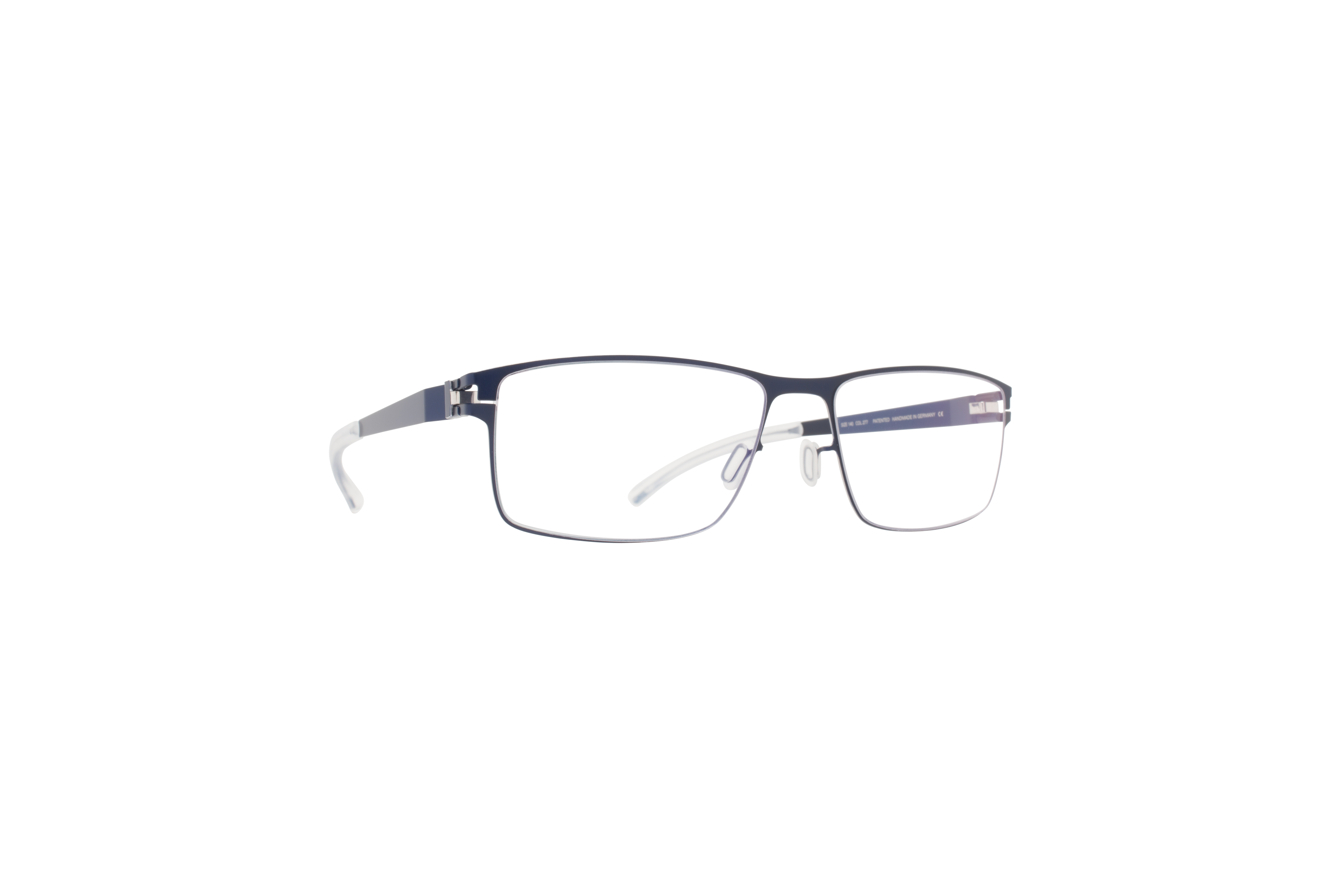 MYKITA No1 Rx Martin Nightsky Silver Edges Clear