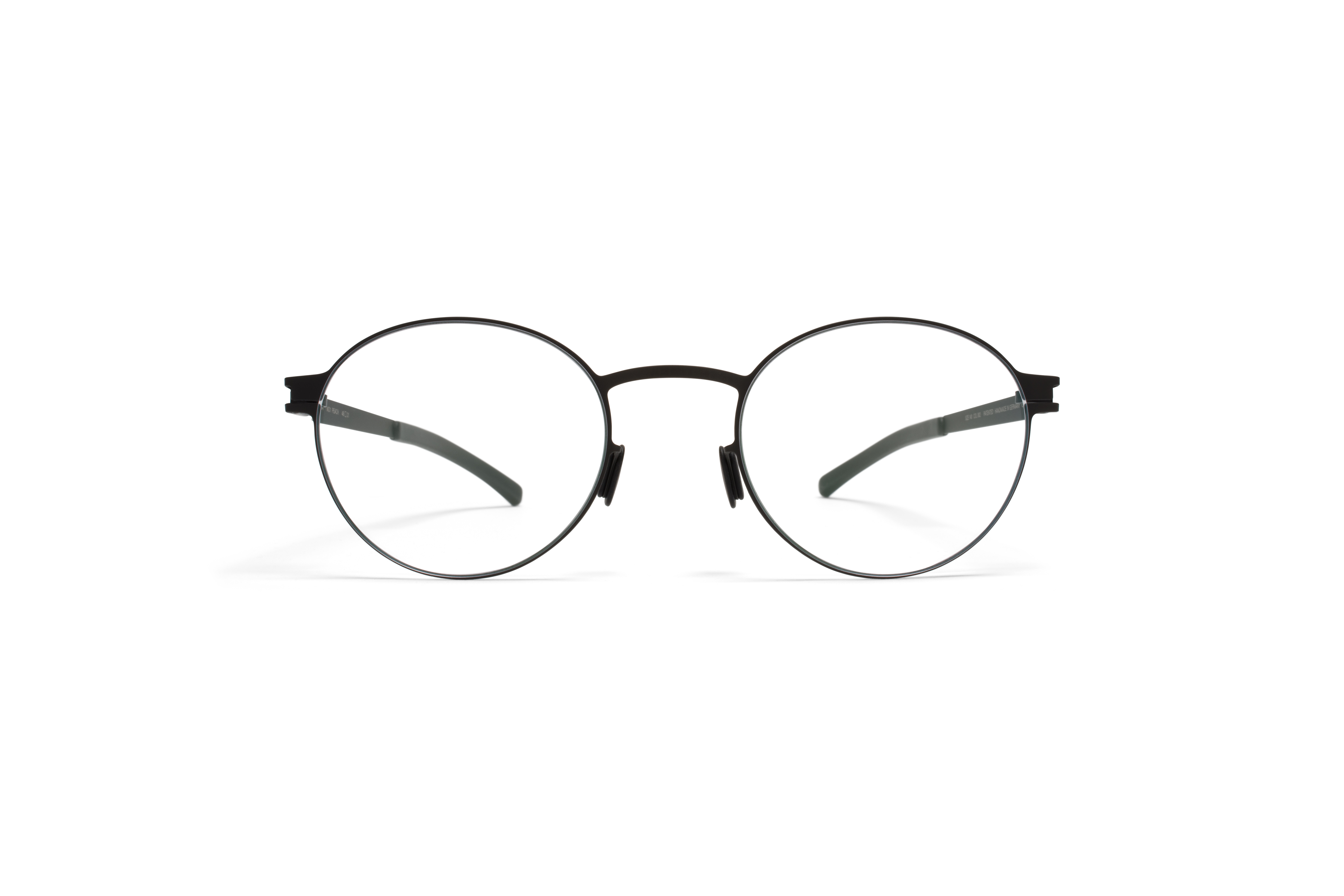 MYKITA No1 Rx Peach Black Clear