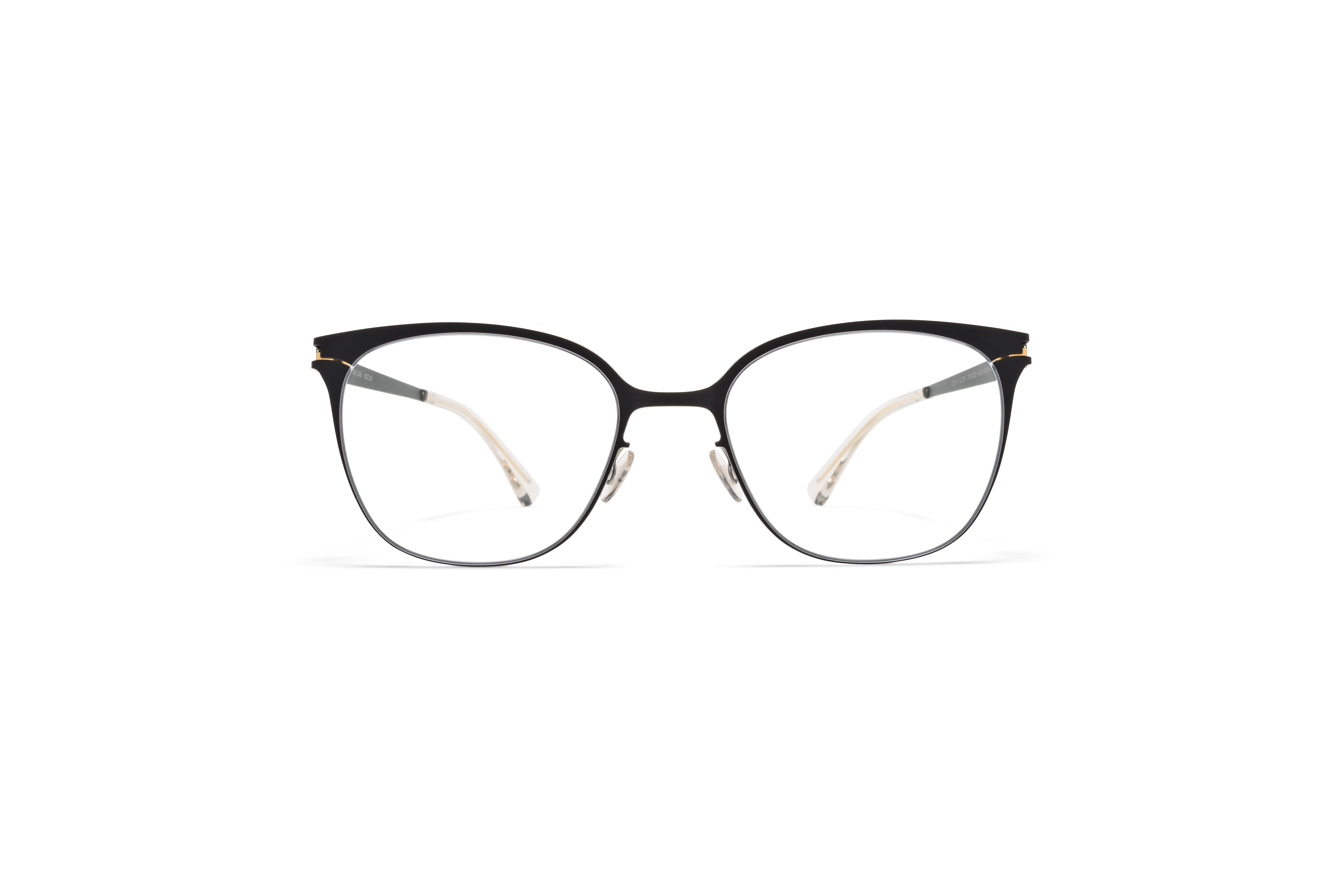 MYKITA No1 Rx Susi Black Gold Edges Clear