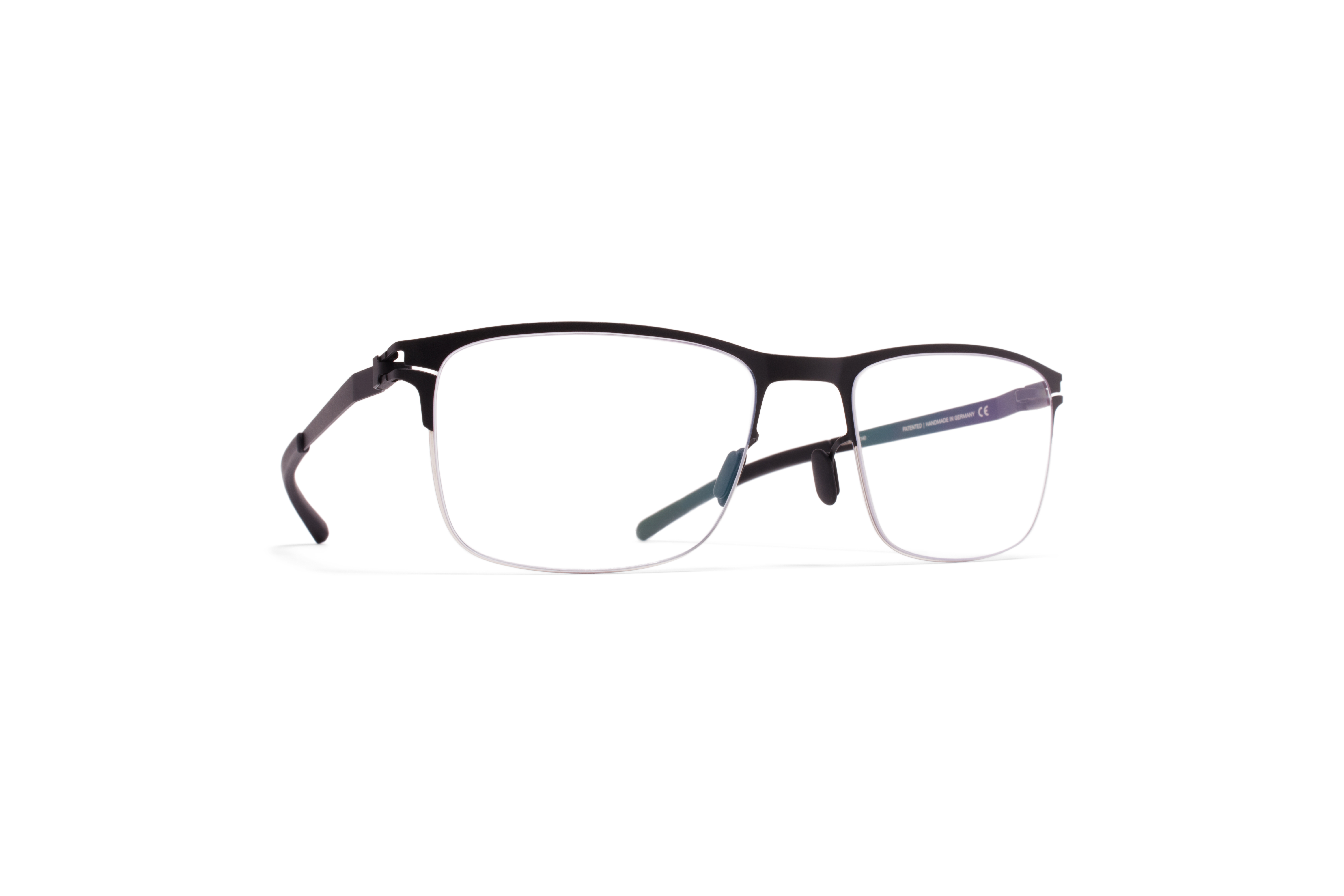 MYKITA No1 Rx Vincent Silver Black Clear