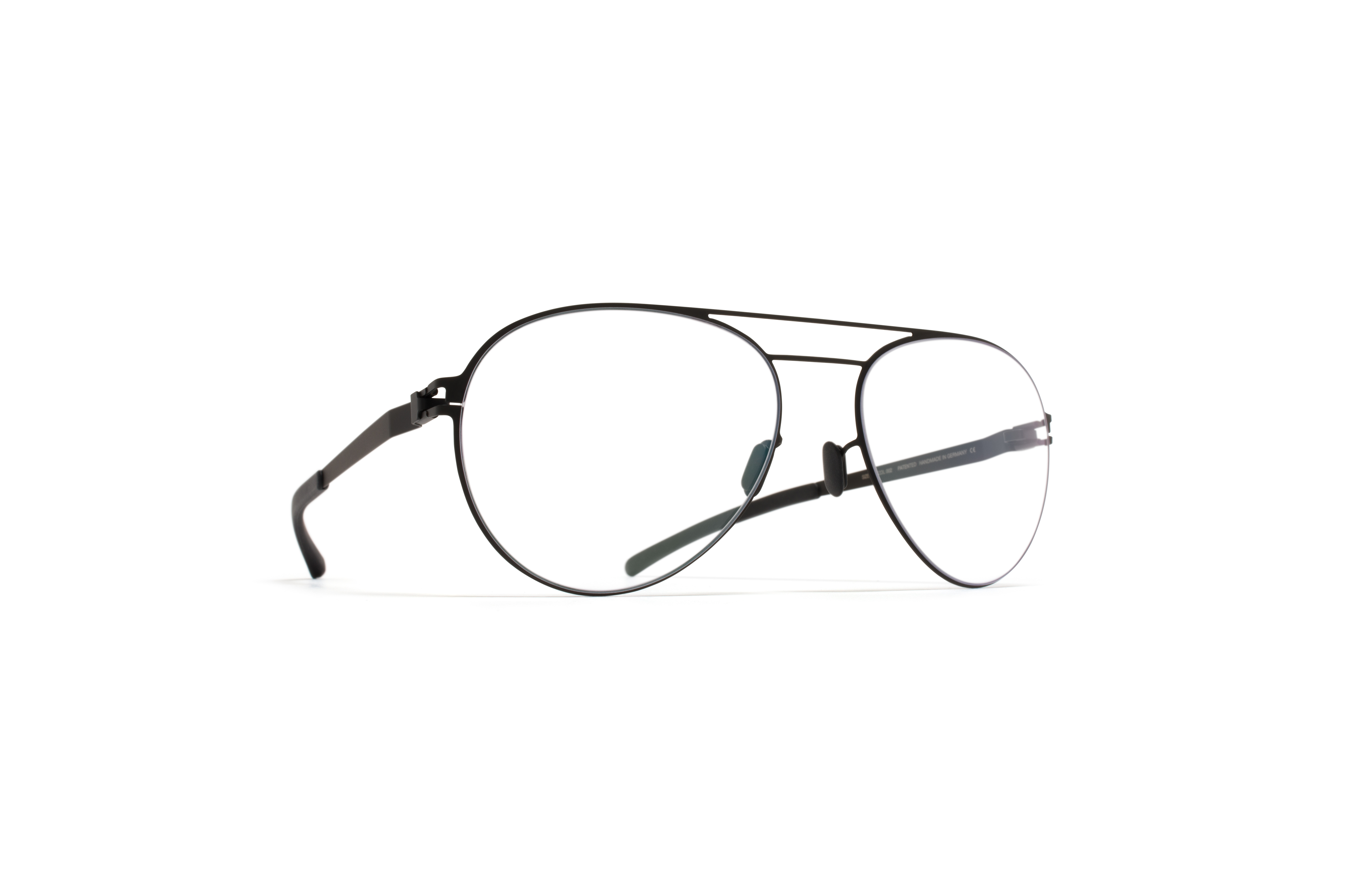 MYKITA No1 Rx Wulf Black Clear