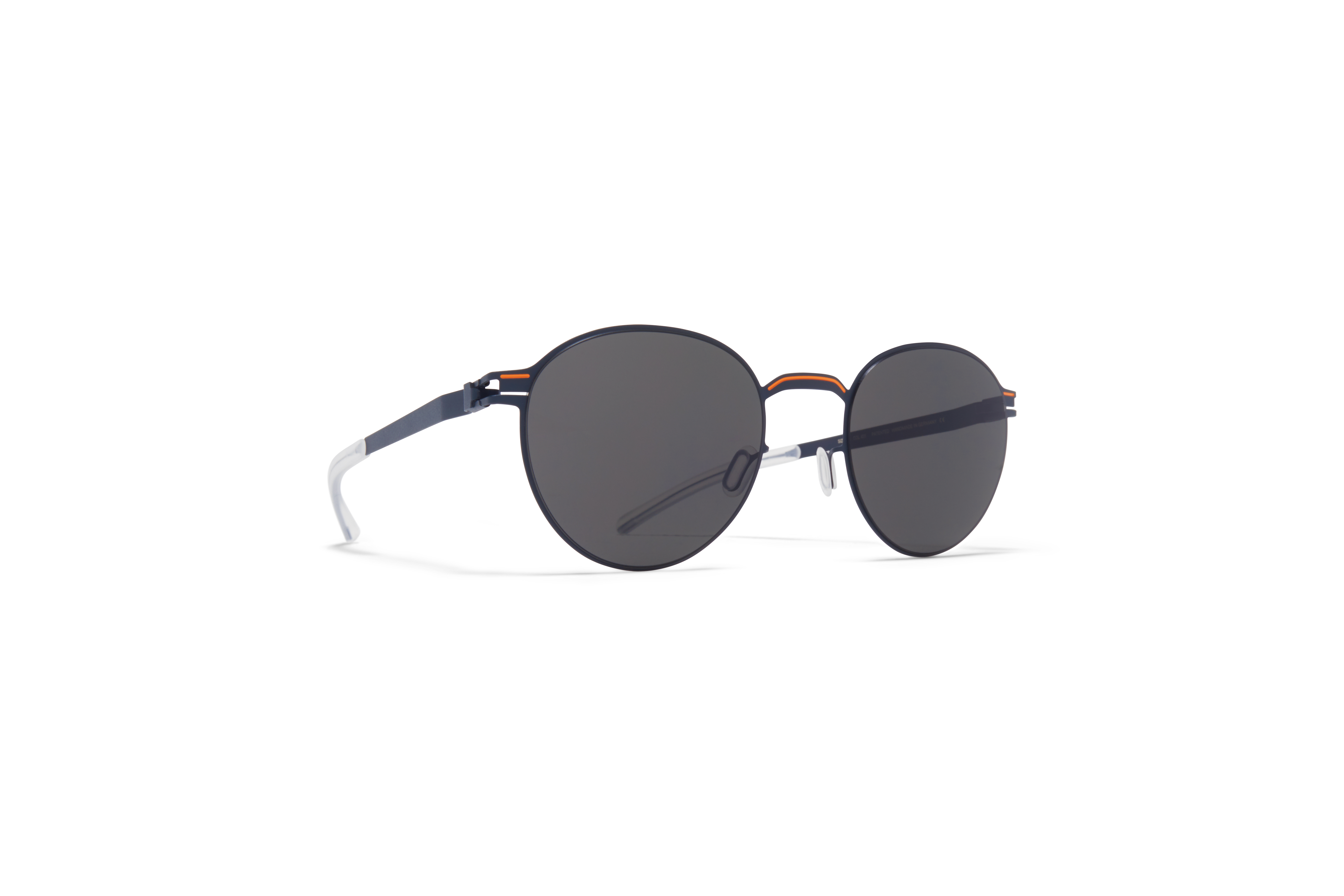 MYKITA No1 Sun Carlo Indigo Orange Dark Grey Solid