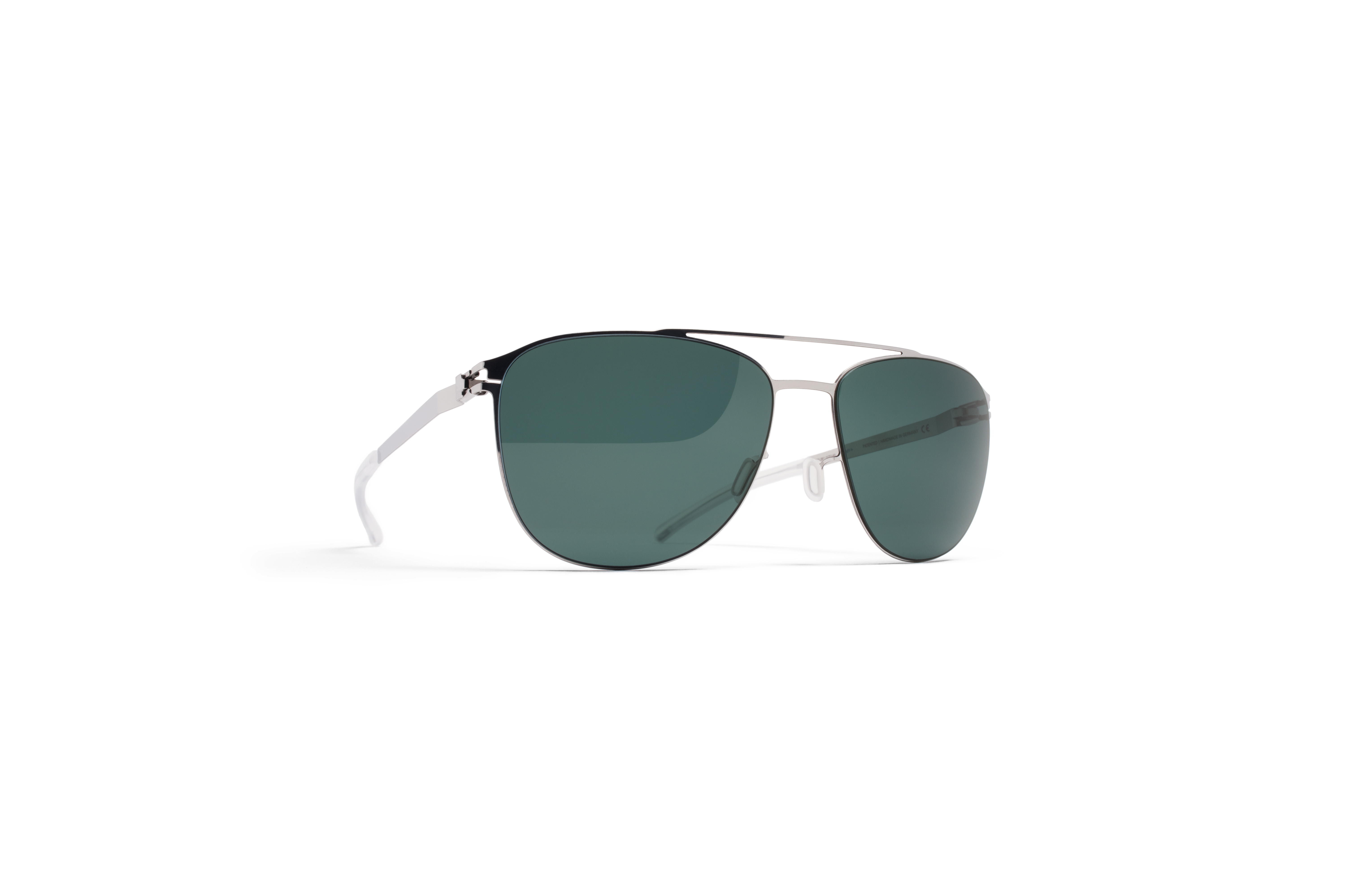 MYKITA No1 Sun Doug Shinysilver Neophan Polarized