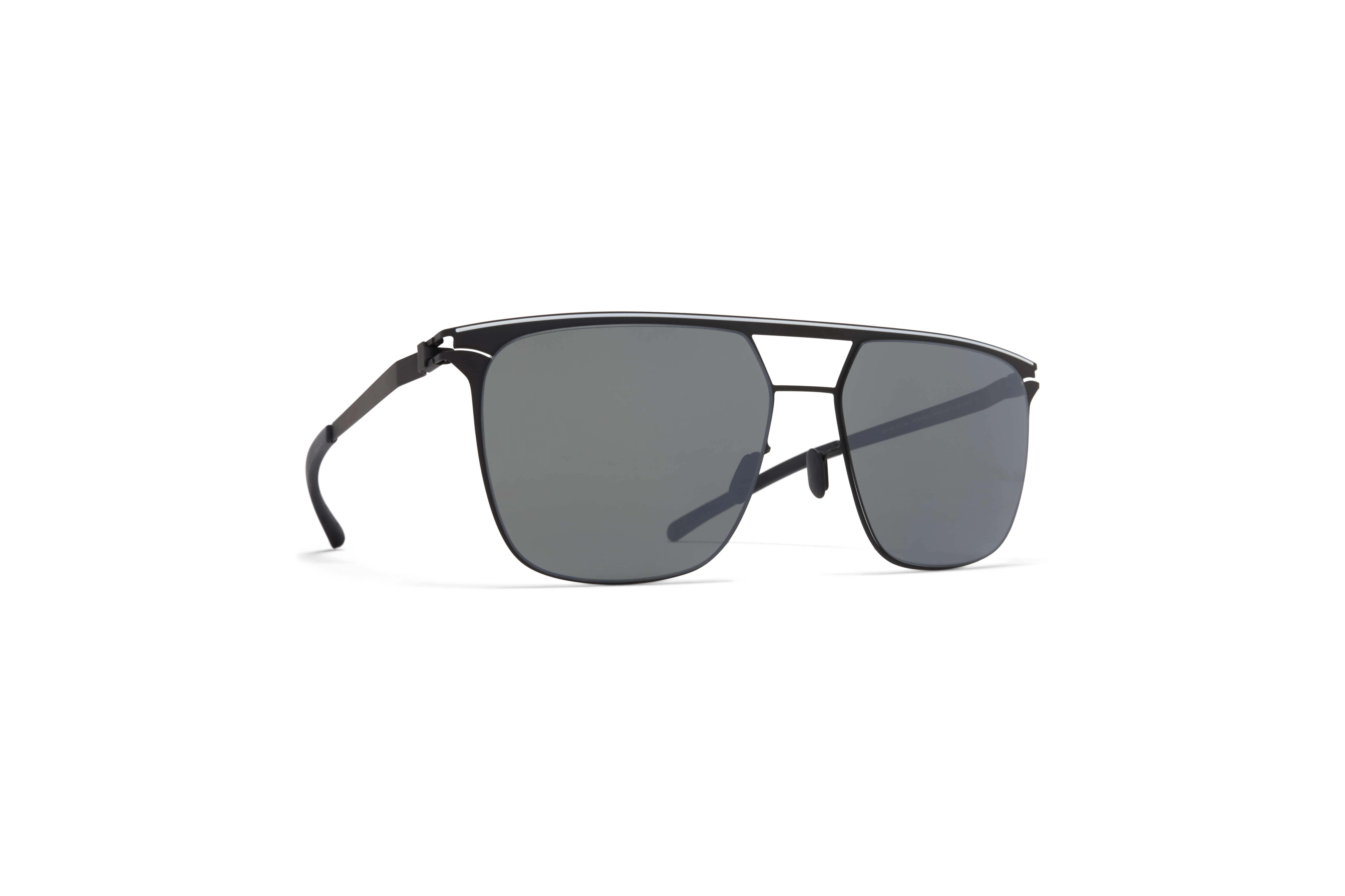 MYKITA No1 Sun Duran Black White Mirror Black
