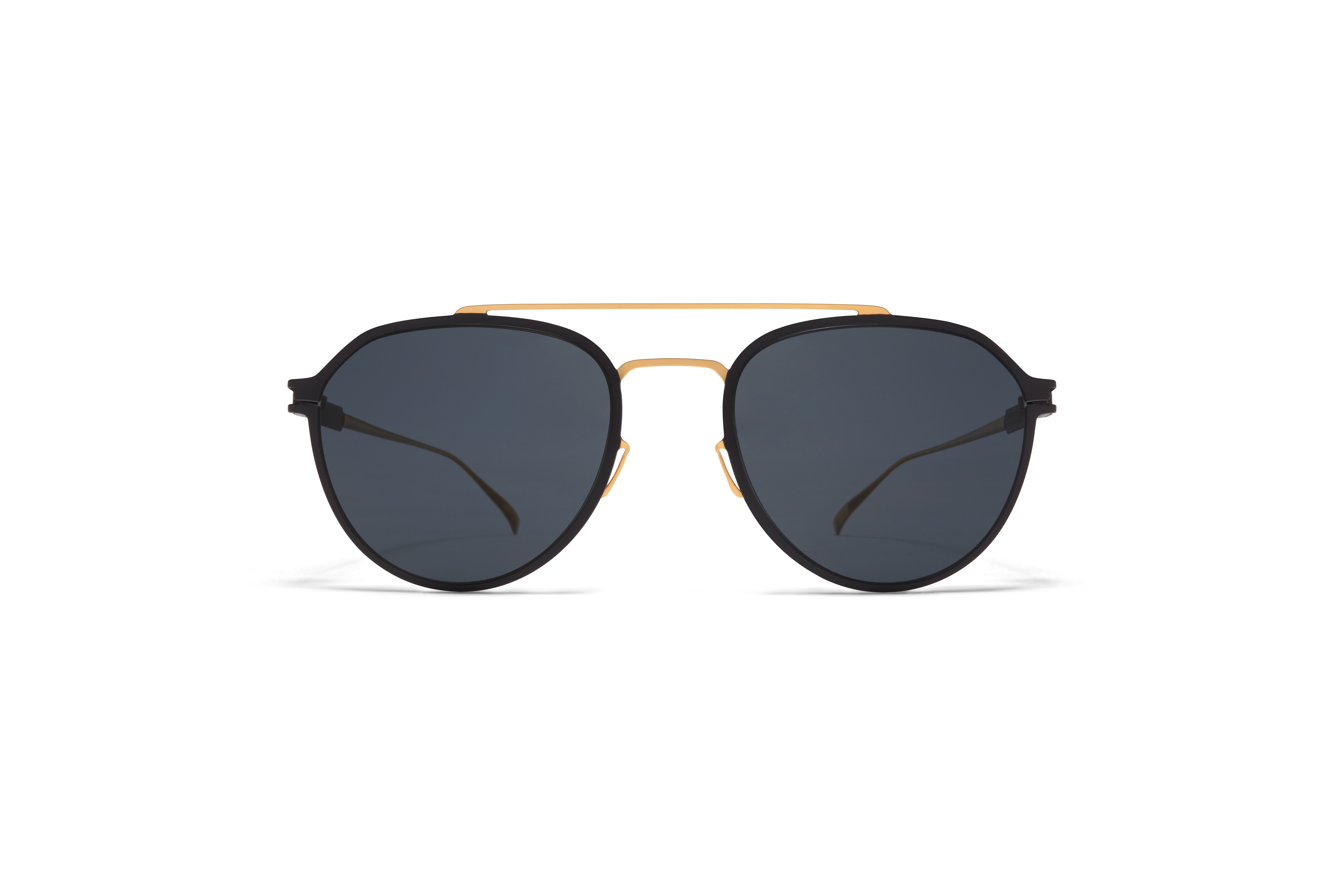 MYKITA No1 Sun Harris Gold Black My Black Polarised