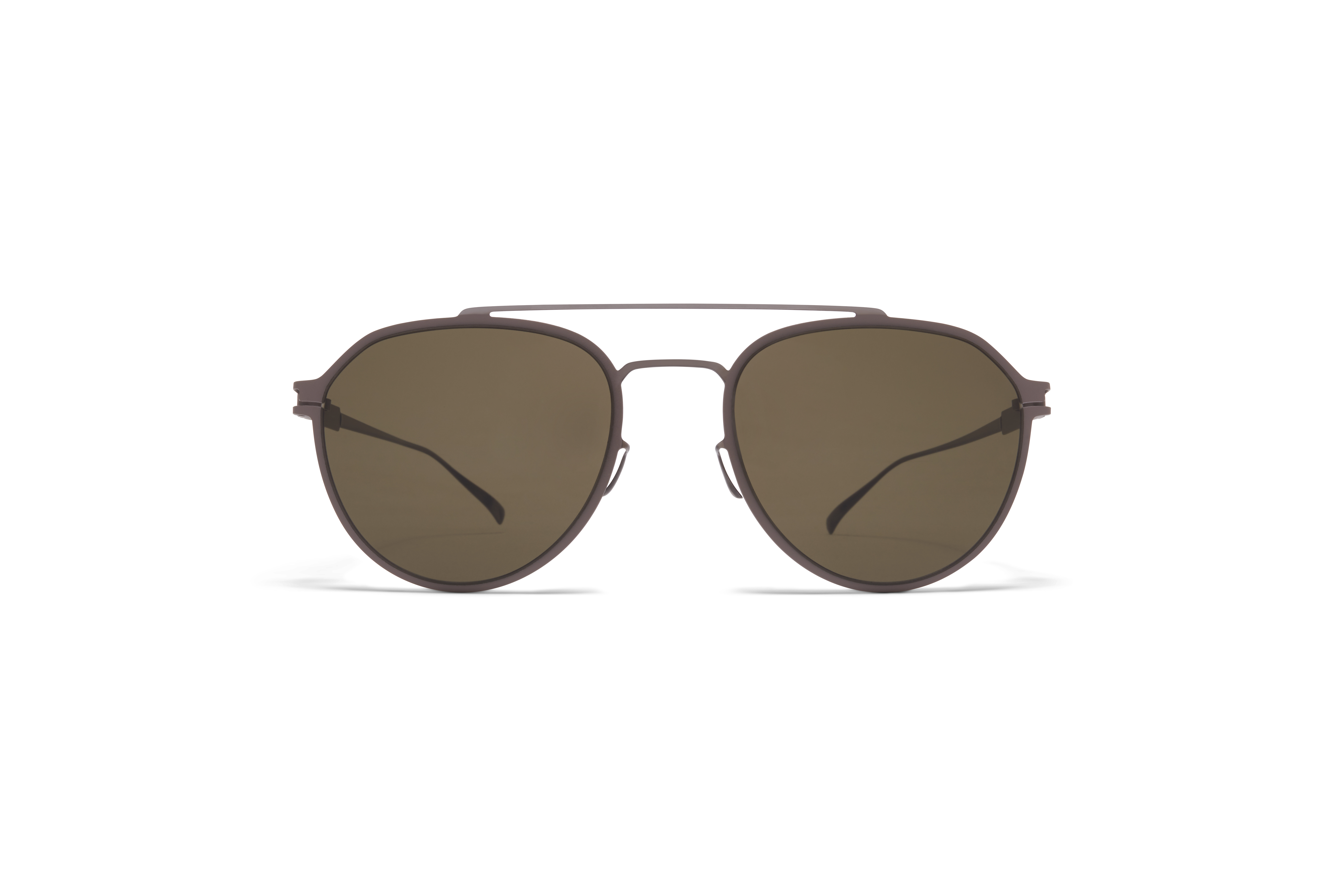 MYKITA No1 Sun Harris Shiny Graphite Mole Grey Raw Green Solid