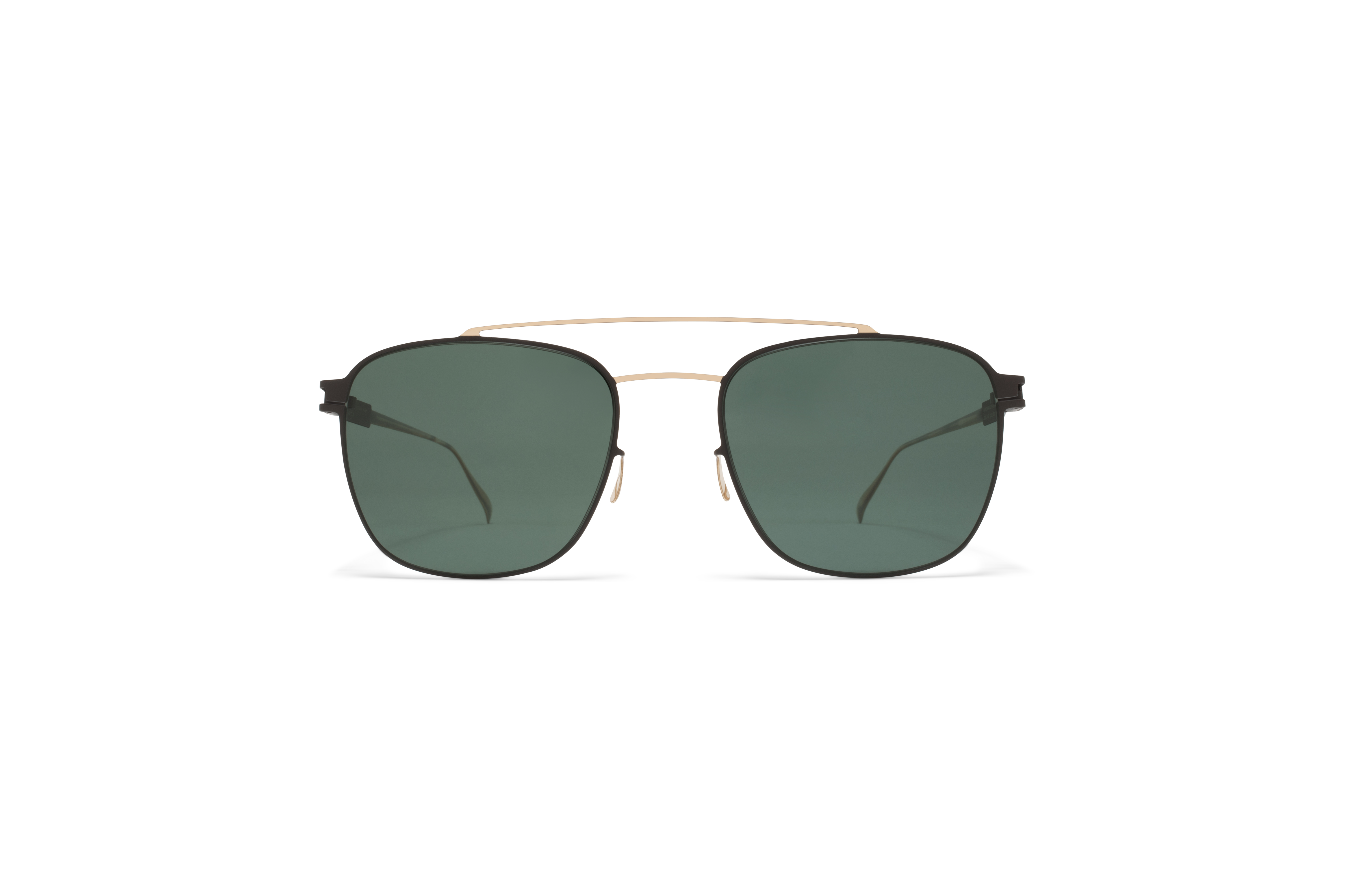 MYKITA No1 Sun Hugh Champagne Gold Ebony Brown My58d00a8303a17