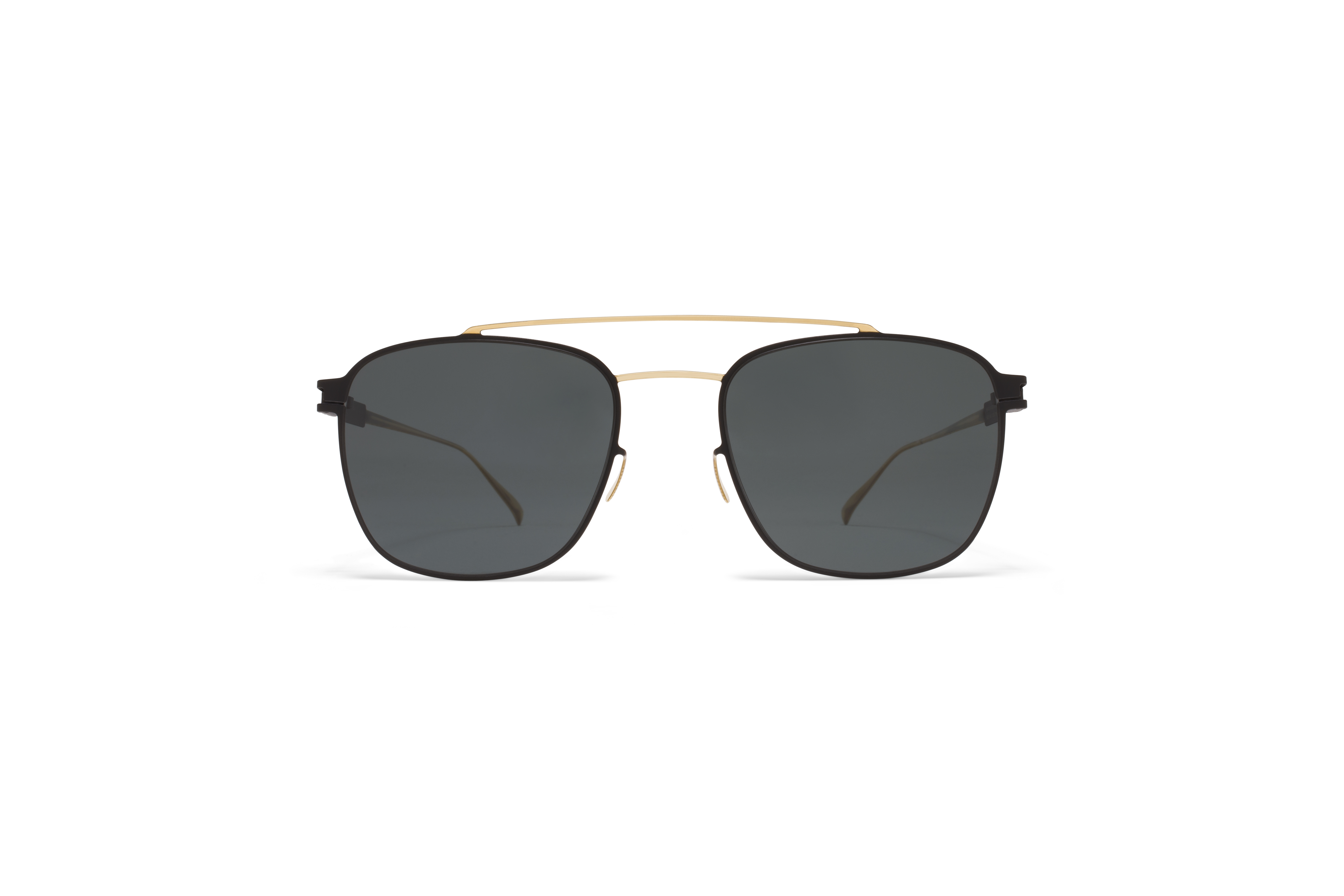 MYKITA No1 Sun Hugh Gold My Black Polarised