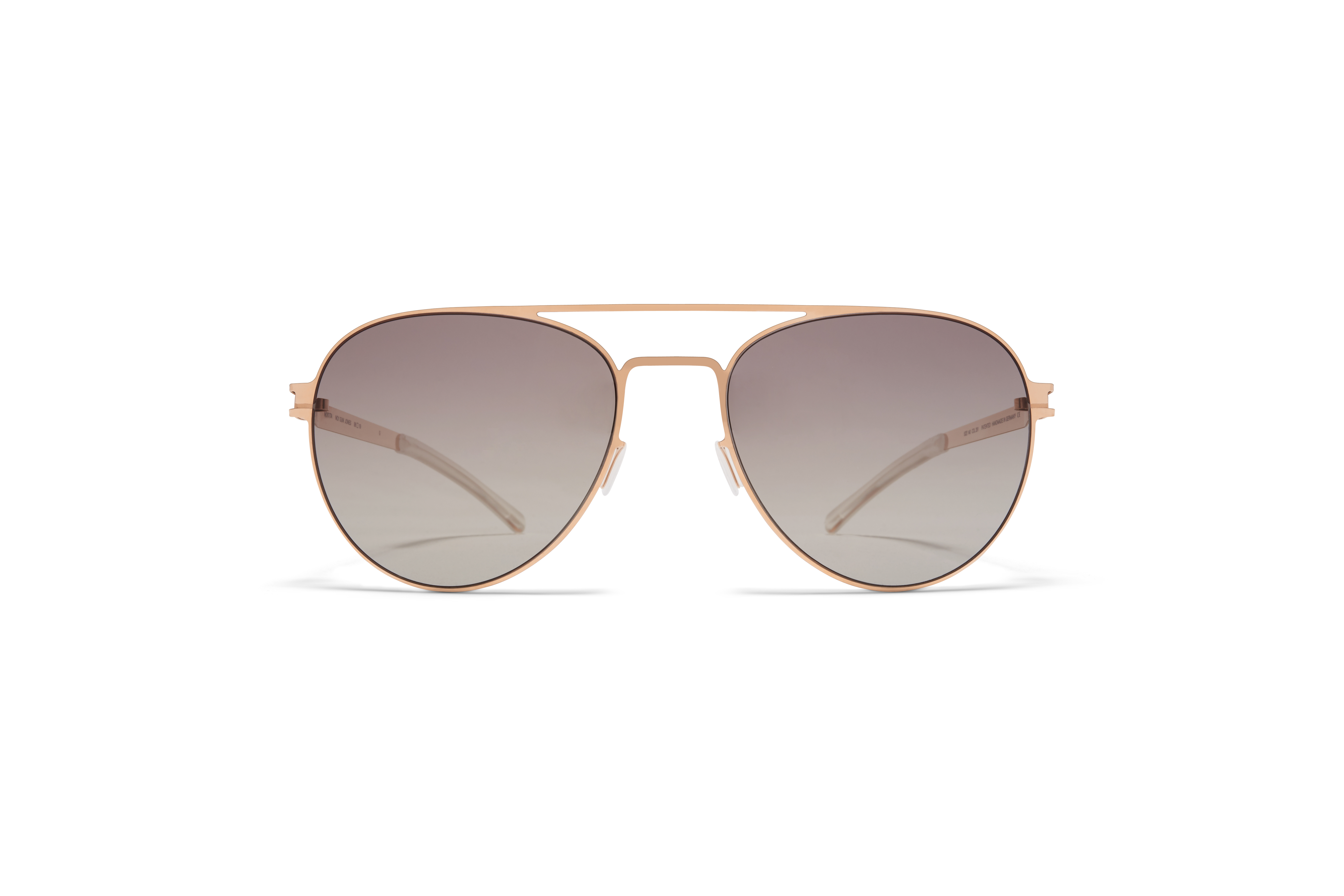 MYKITA No1 Sun Jones Champagne Gold My Green Grad Photo Polarised