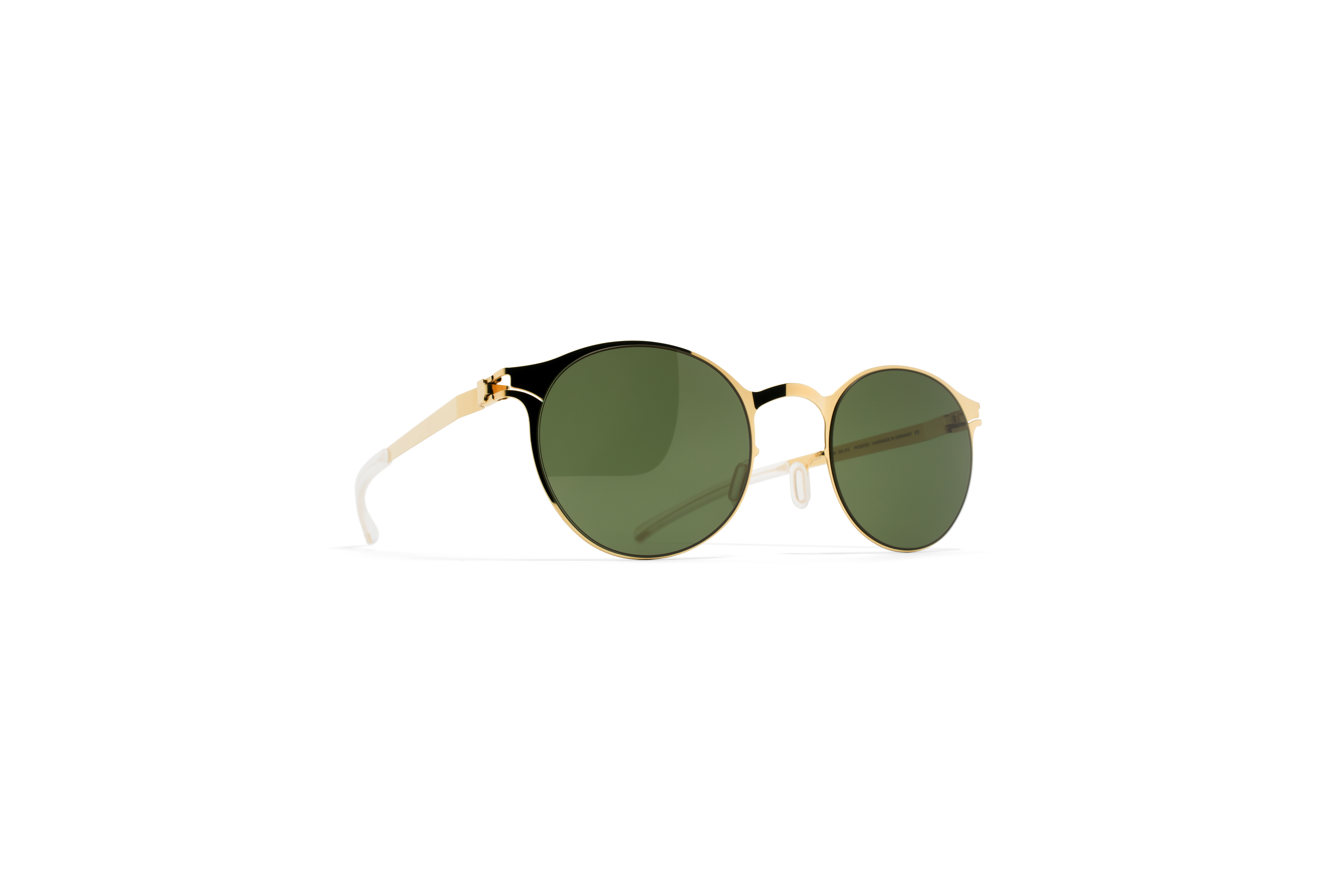 MYKITA No1 Sun Junis Glossygold My Fern Polarised