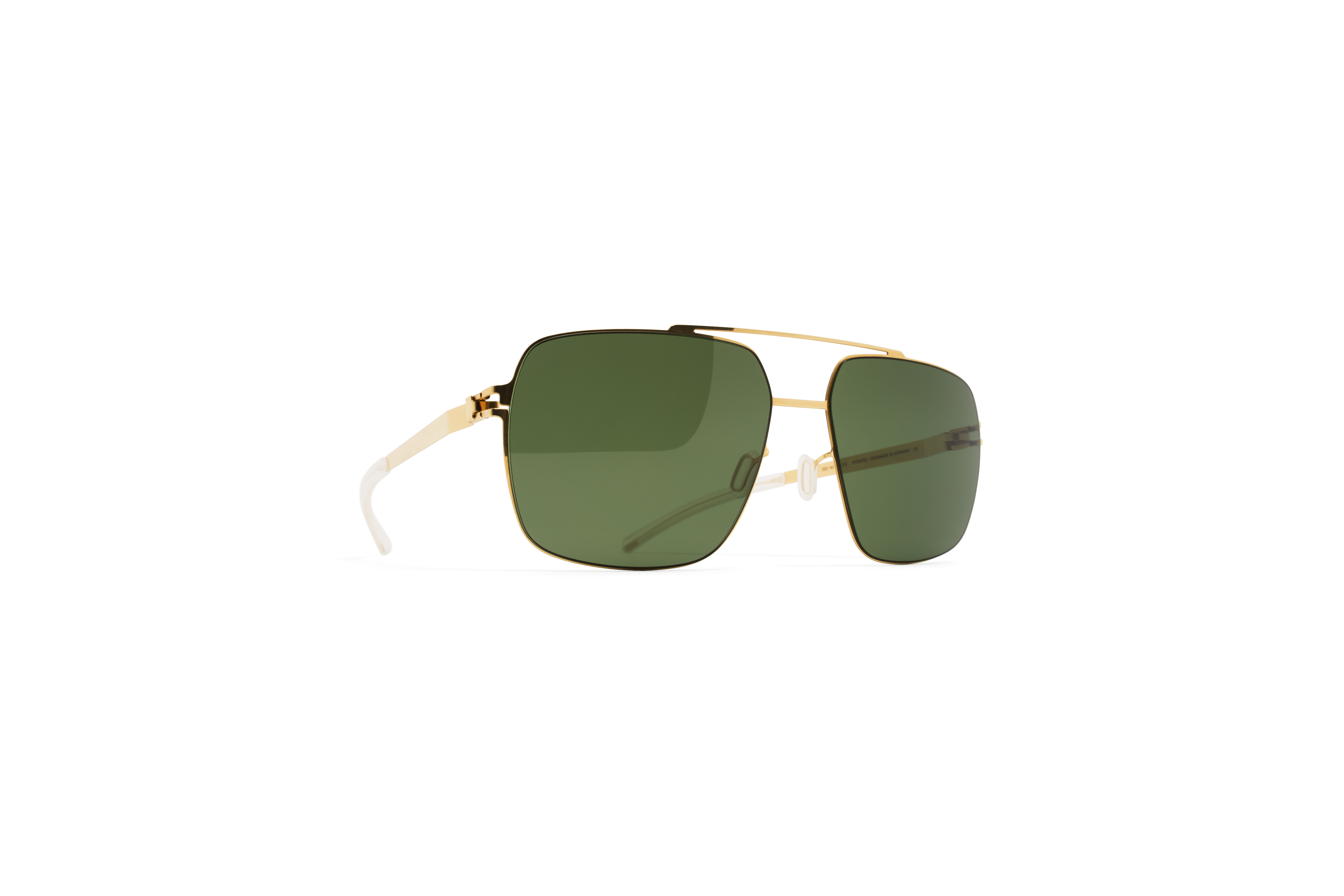 MYKITA No1 Sun Landon Glossygold My Fern Polarised