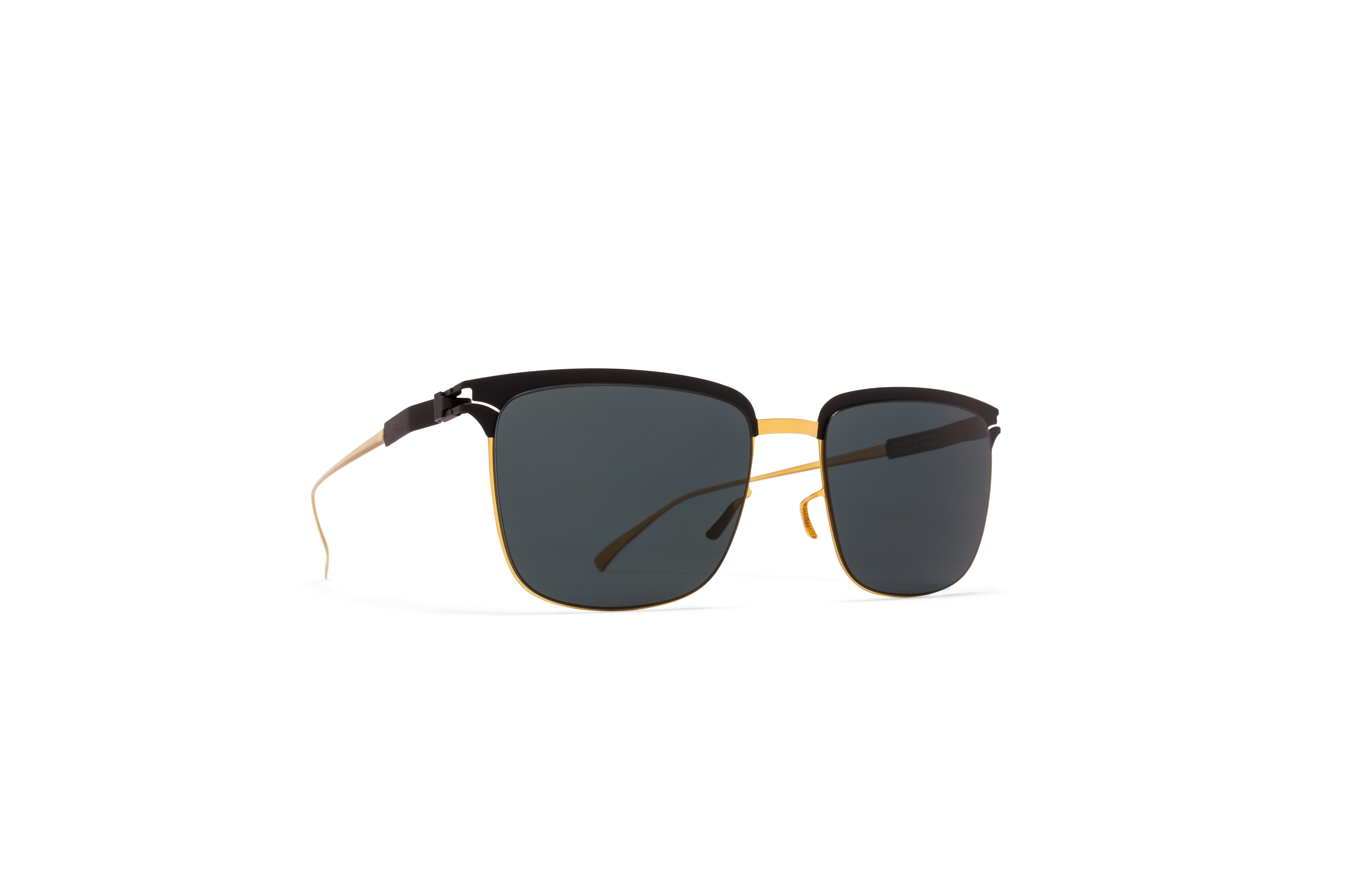MYKITA No1 Sun Matteo Gold Black Black Polarised
