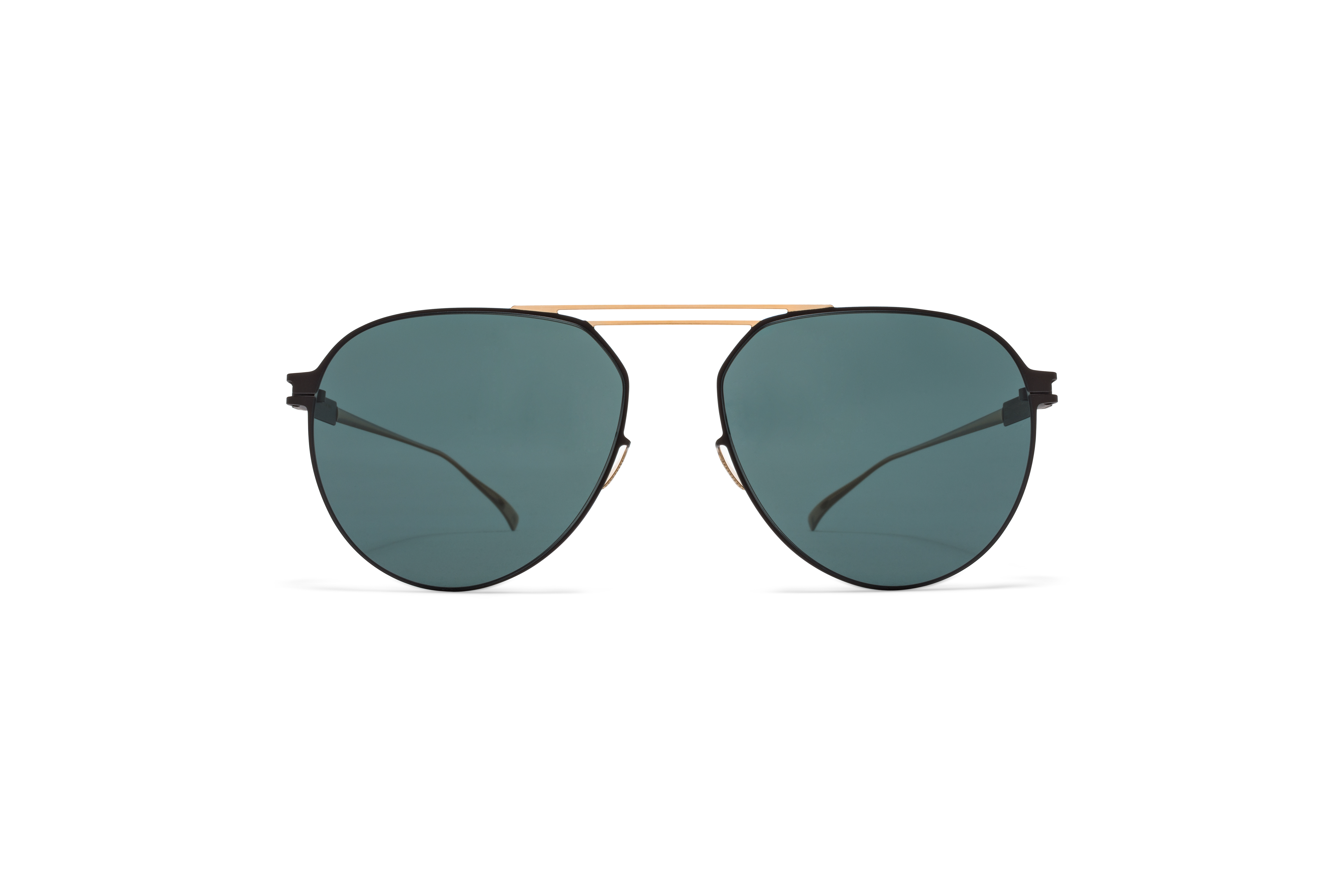 MYKITA No1 Sun Nino Champagne Gold Ebony Brown Neophan Polarized