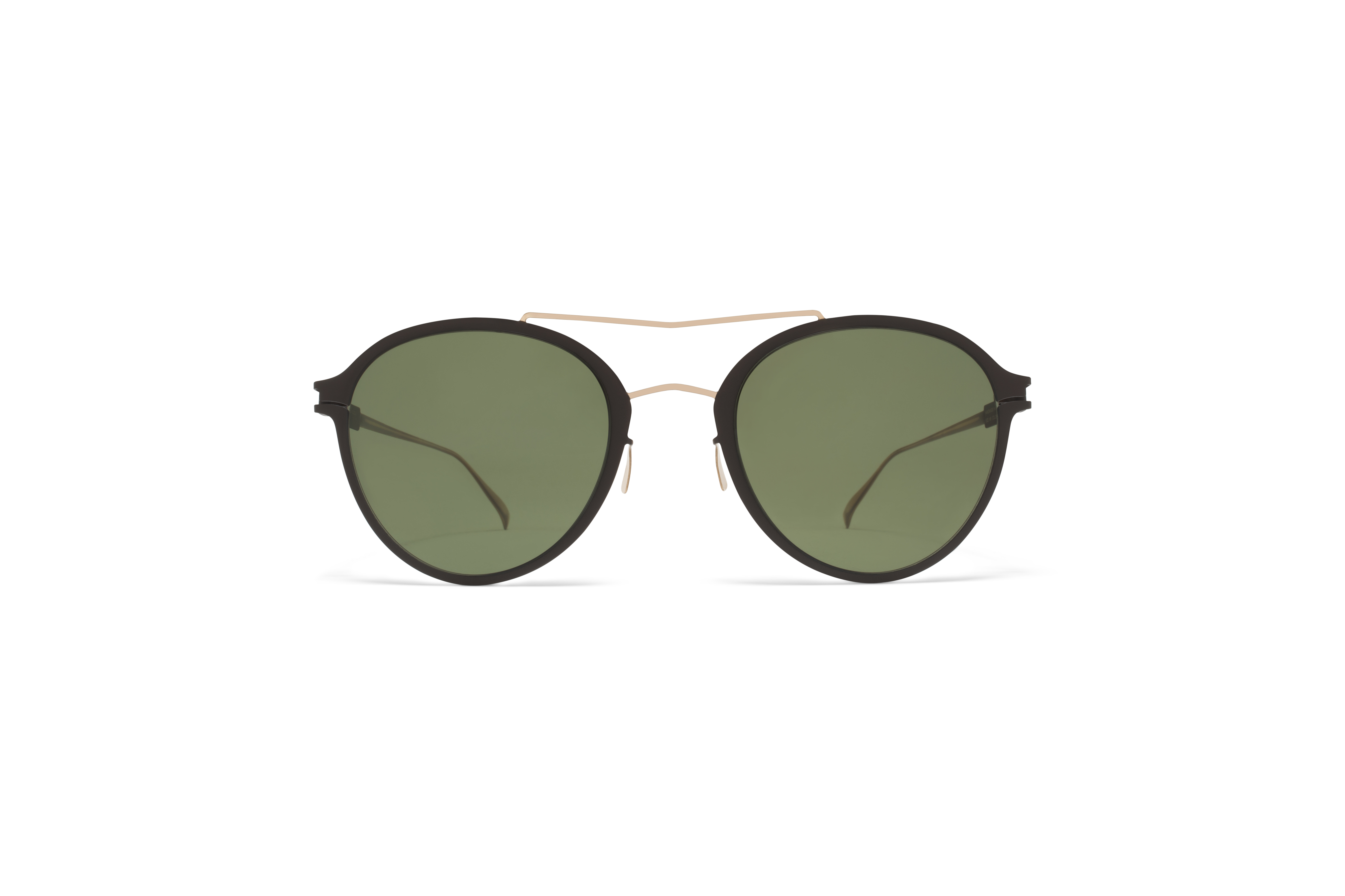 MYKITA No1 Sun Odell Champagne Gold Ebony Brown My58d00bb83ee01