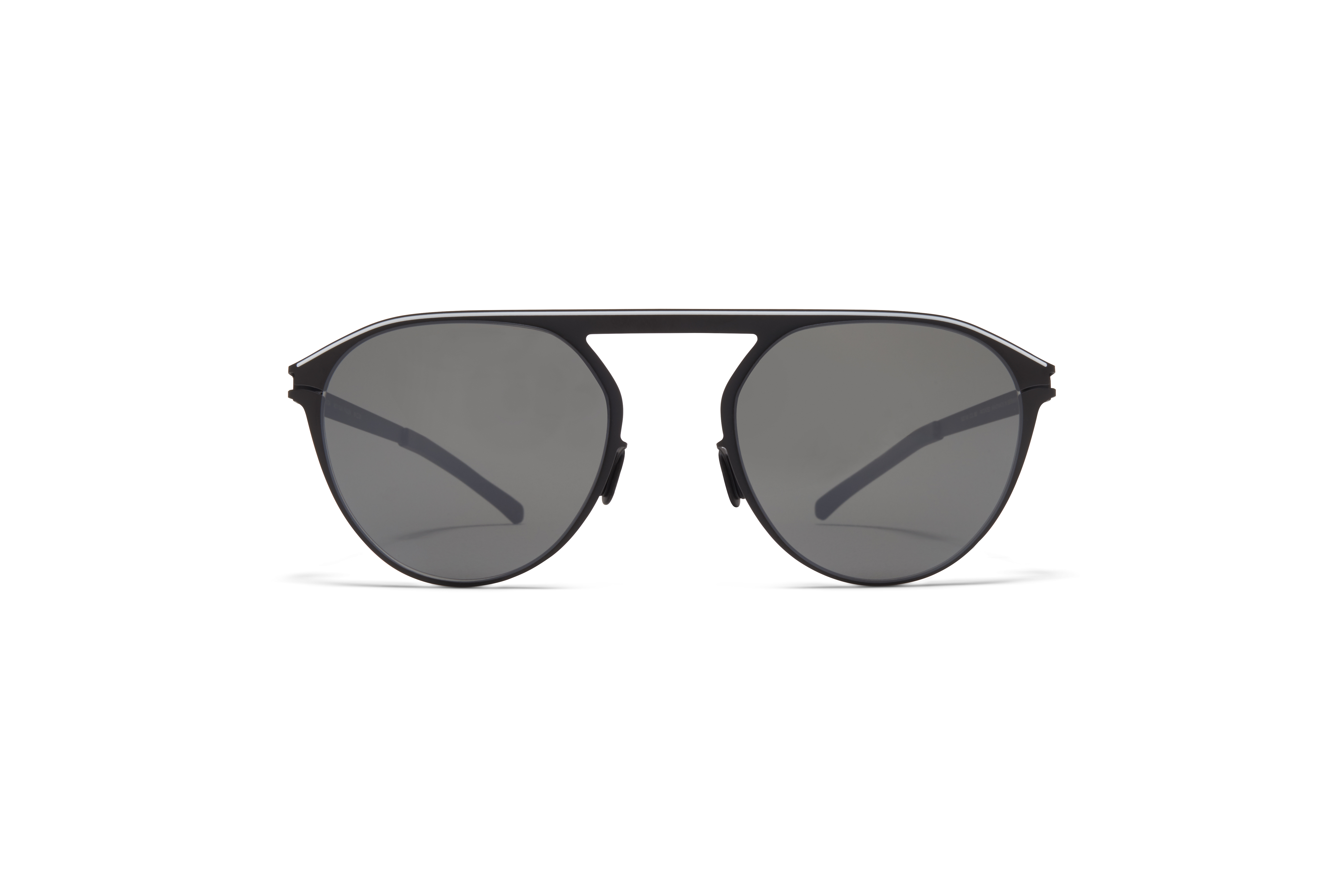 MYKITA No1 Sun Paulin Black White Mirror Black