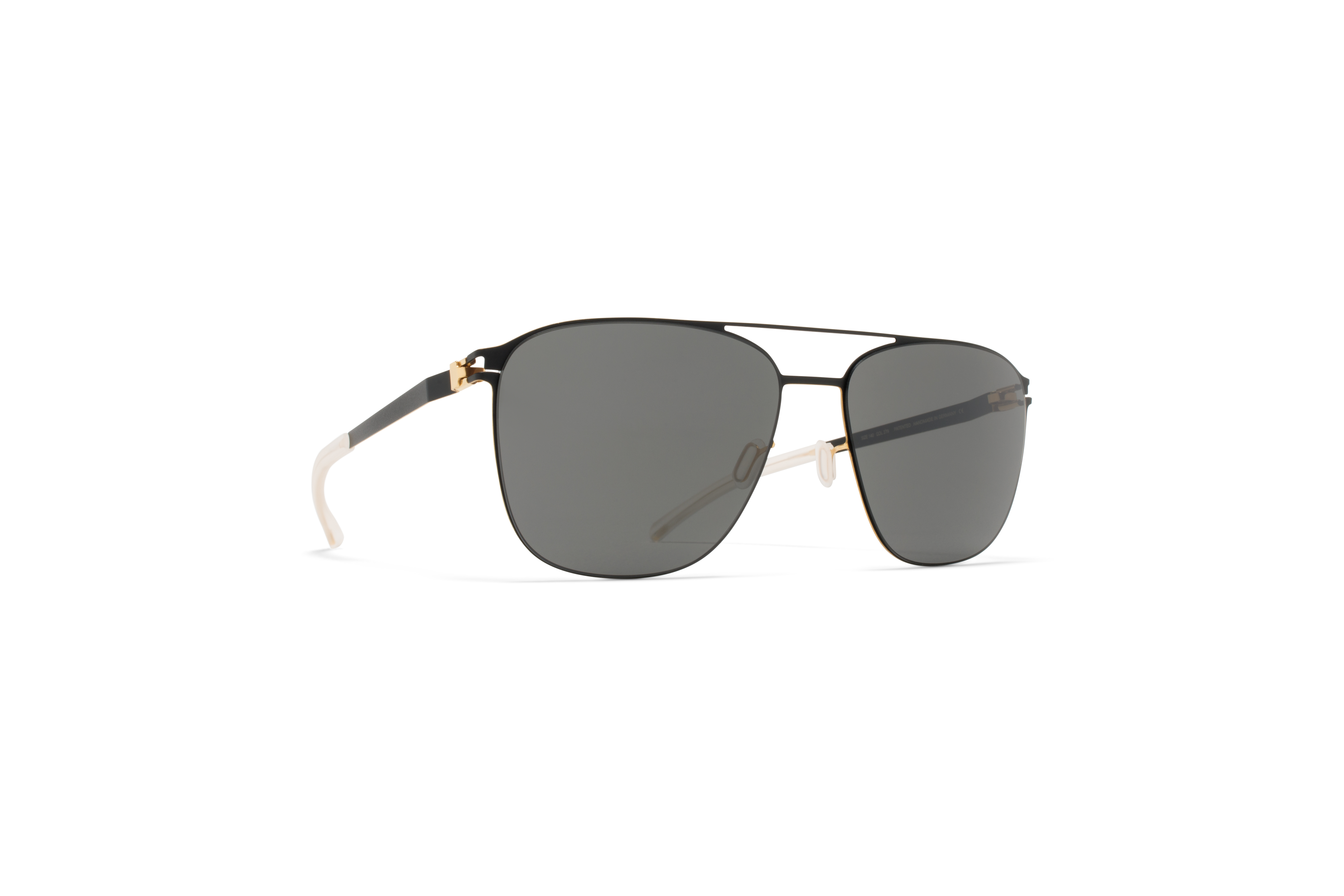 MYKITA No1 Sun Preston Black Gold Edges Darkgrey S58a6aa3cb7616