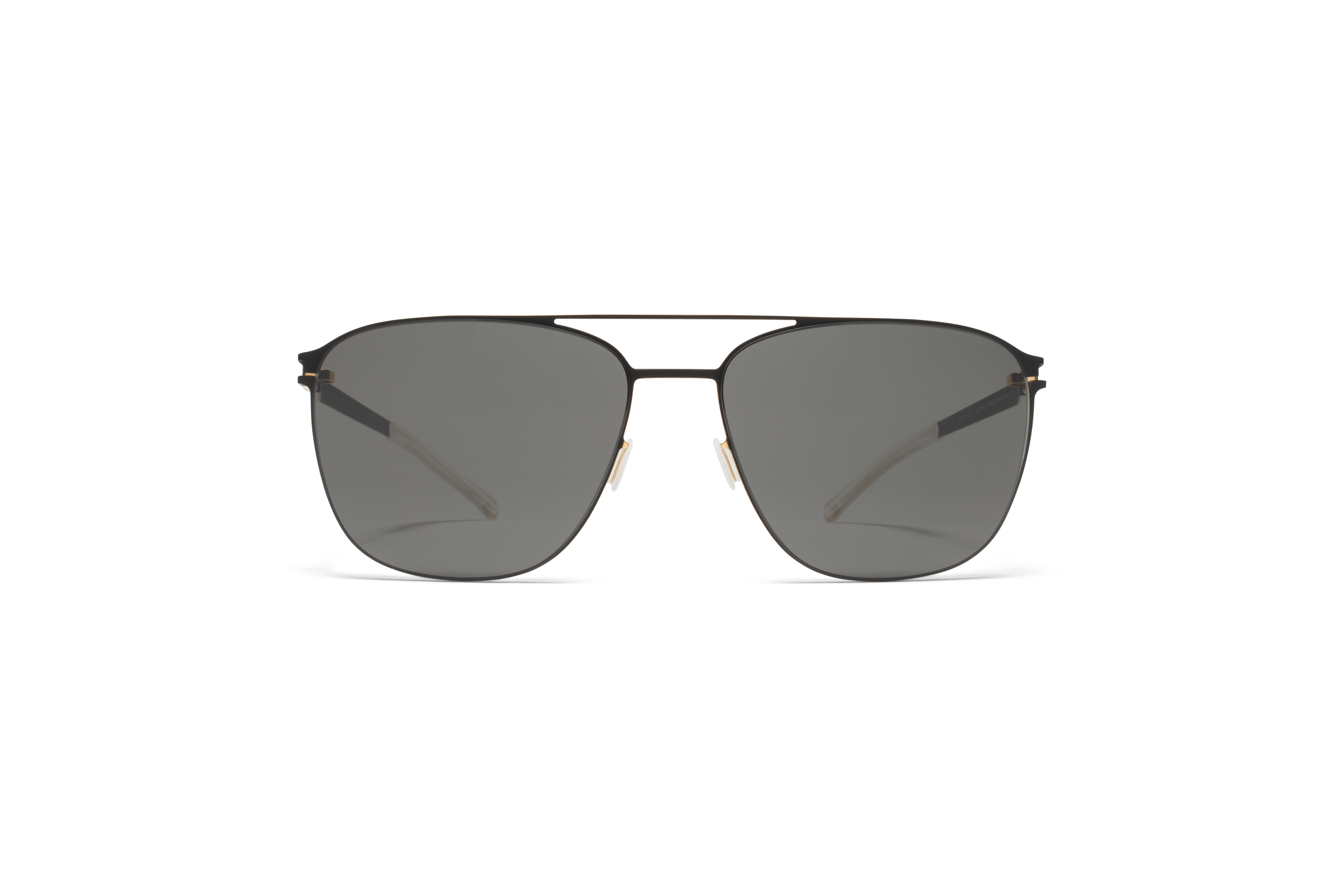 MYKITA No1 Sun Preston Black Gold Edges Darkgrey S58a6aa6f3b3e9