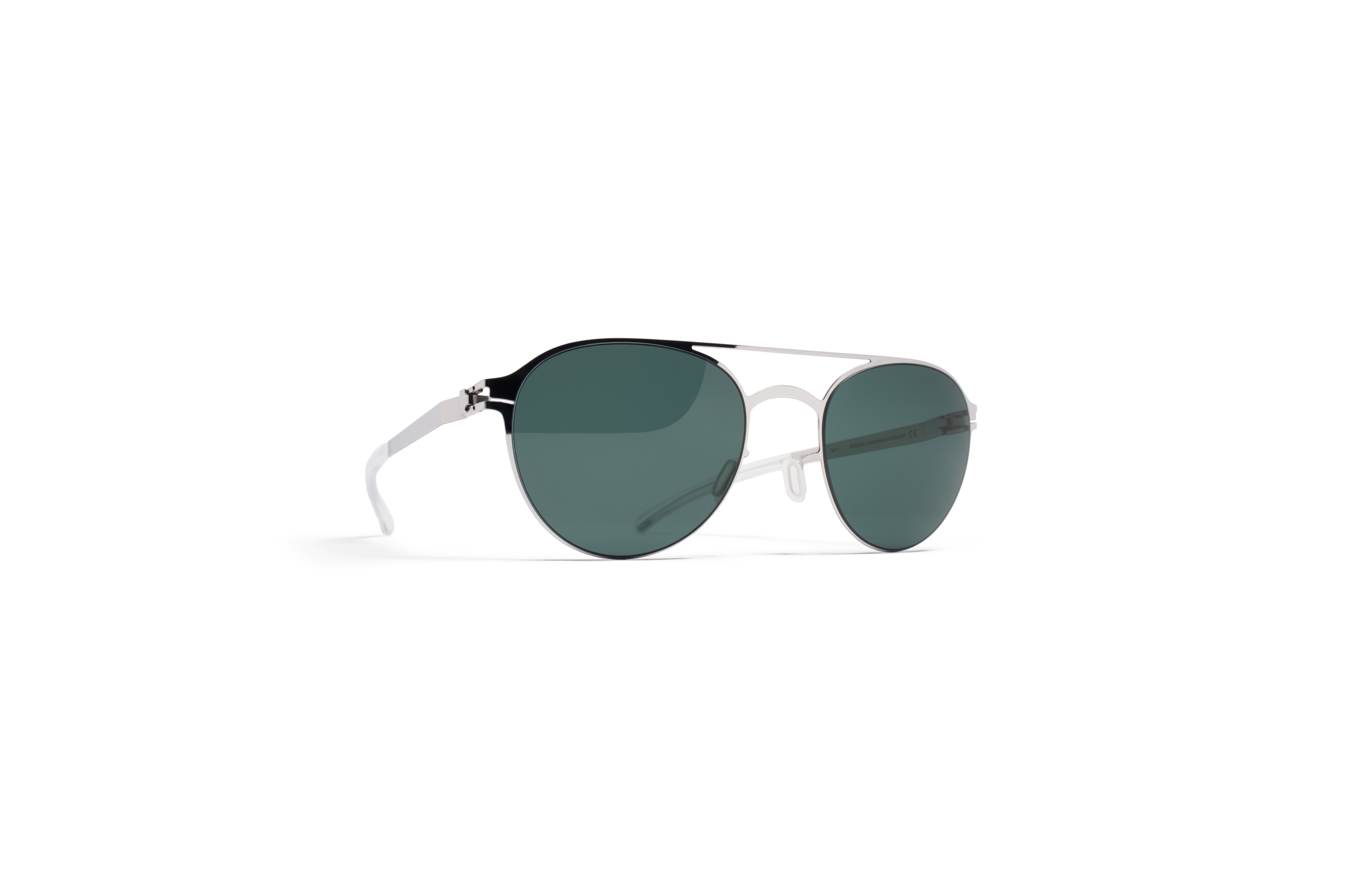 MYKITA No1 Sun Reginald Shinysilver Neophan Polari
