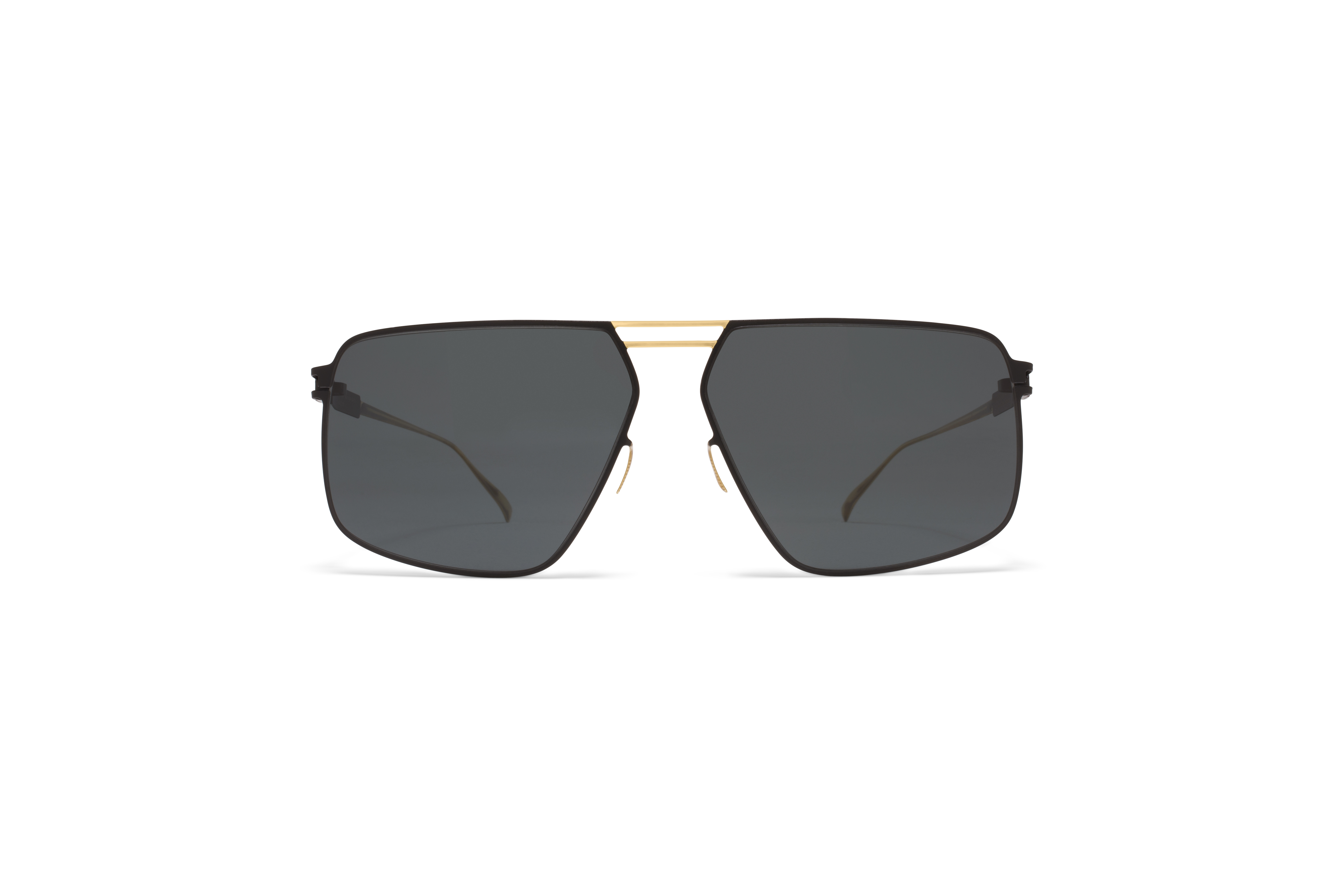 MYKITA No1 Sun Satch Gold My Black Polarised