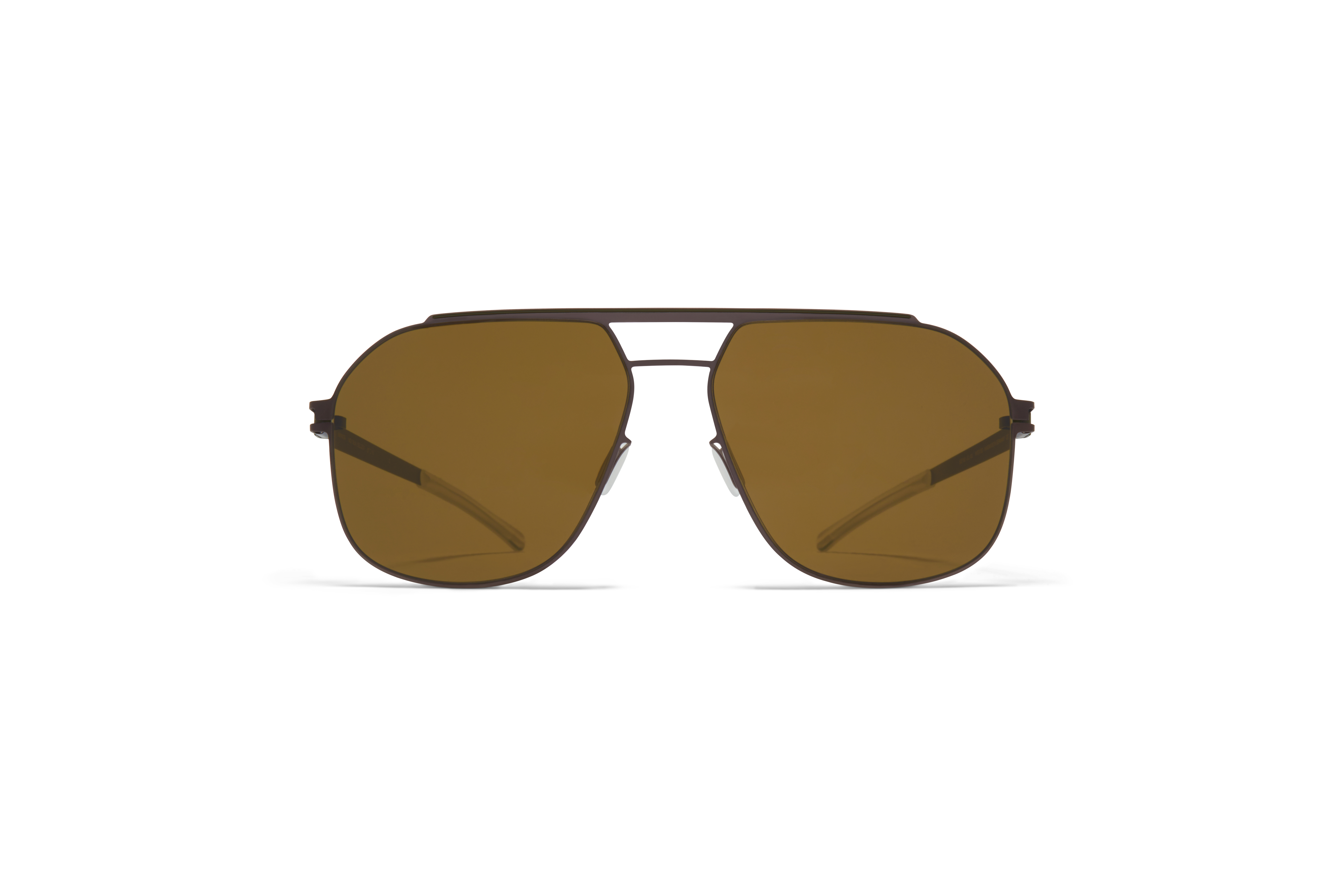 MYKITA No1 Sun Selleck Mocca Camou Green Raw Brown Solid