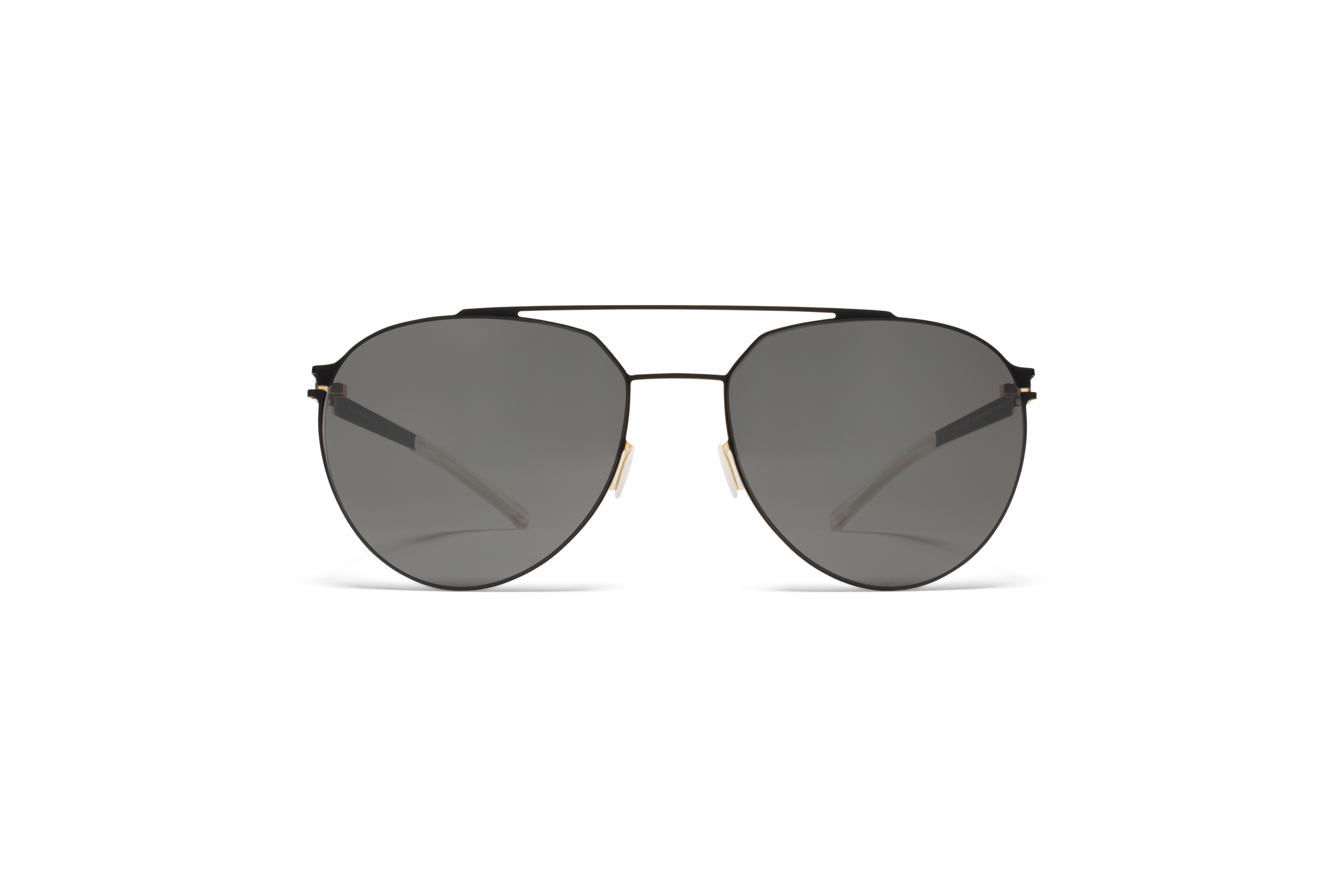 MYKITA No1 Sun Sylvester Black Gold Edges Darkgrey590afb57799c8