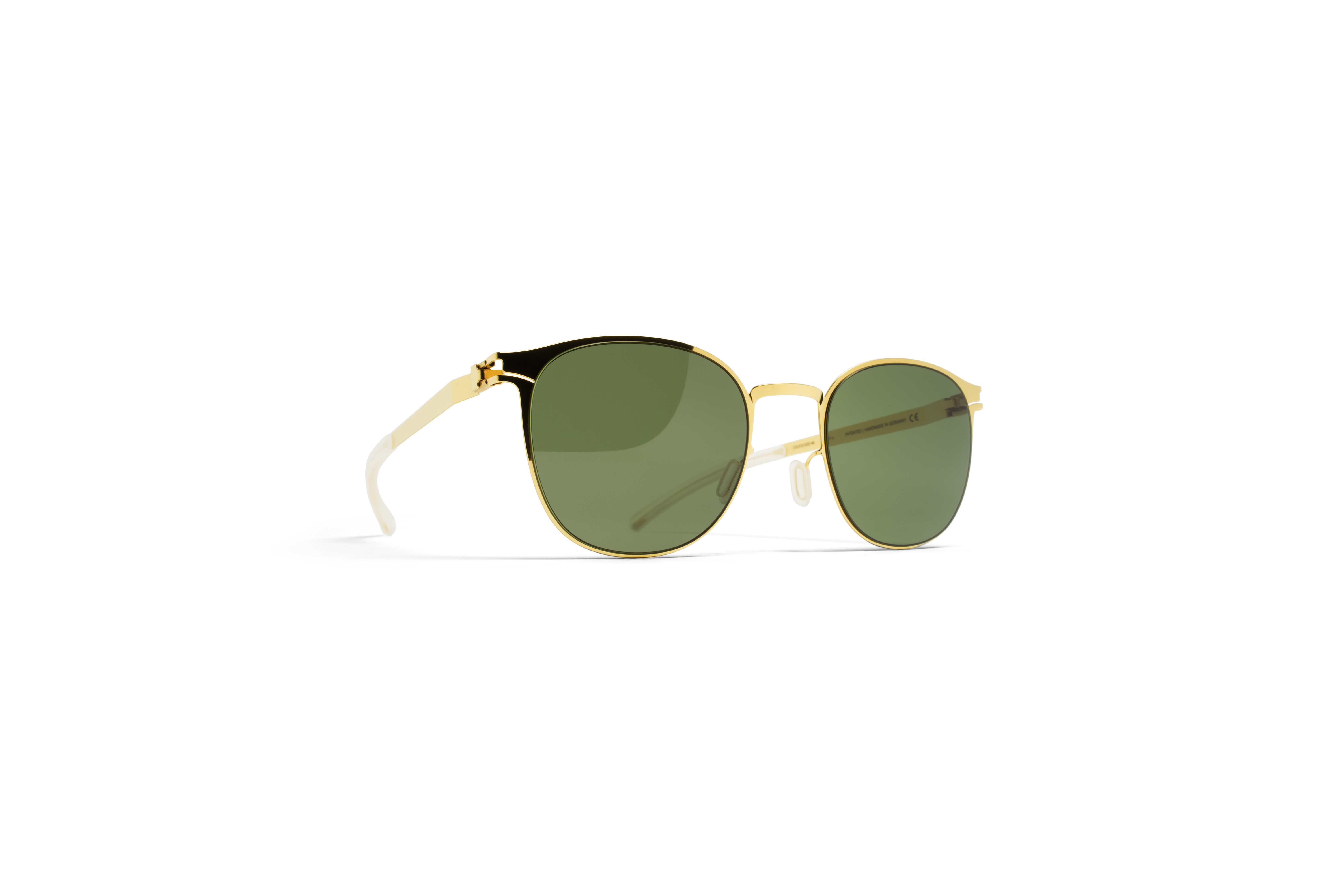 MYKITA No1 Sun Timothy Glossygold My Fern Polaris