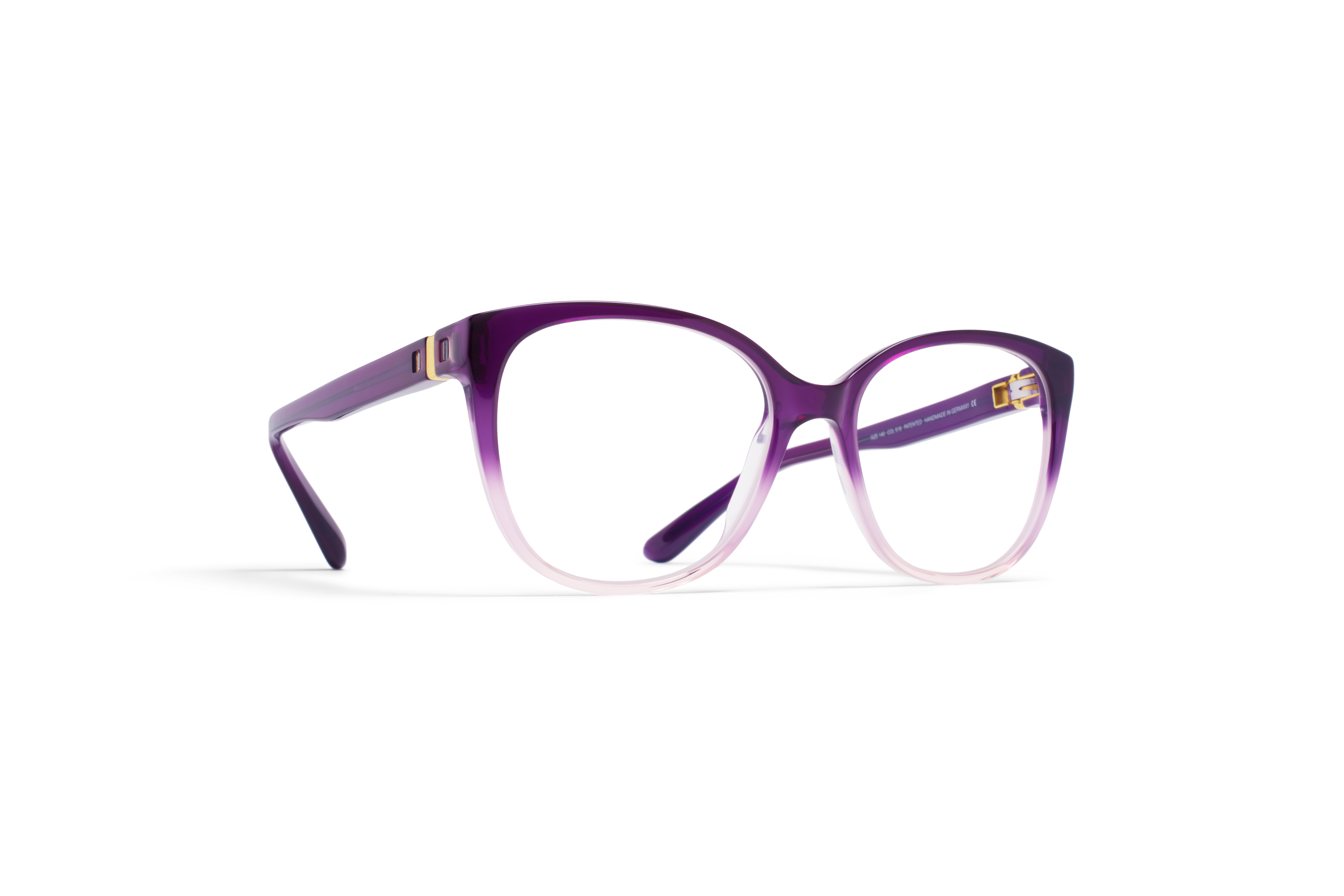 MYKITA No2 Rx Inga Purple Progress Clear P5758480040436