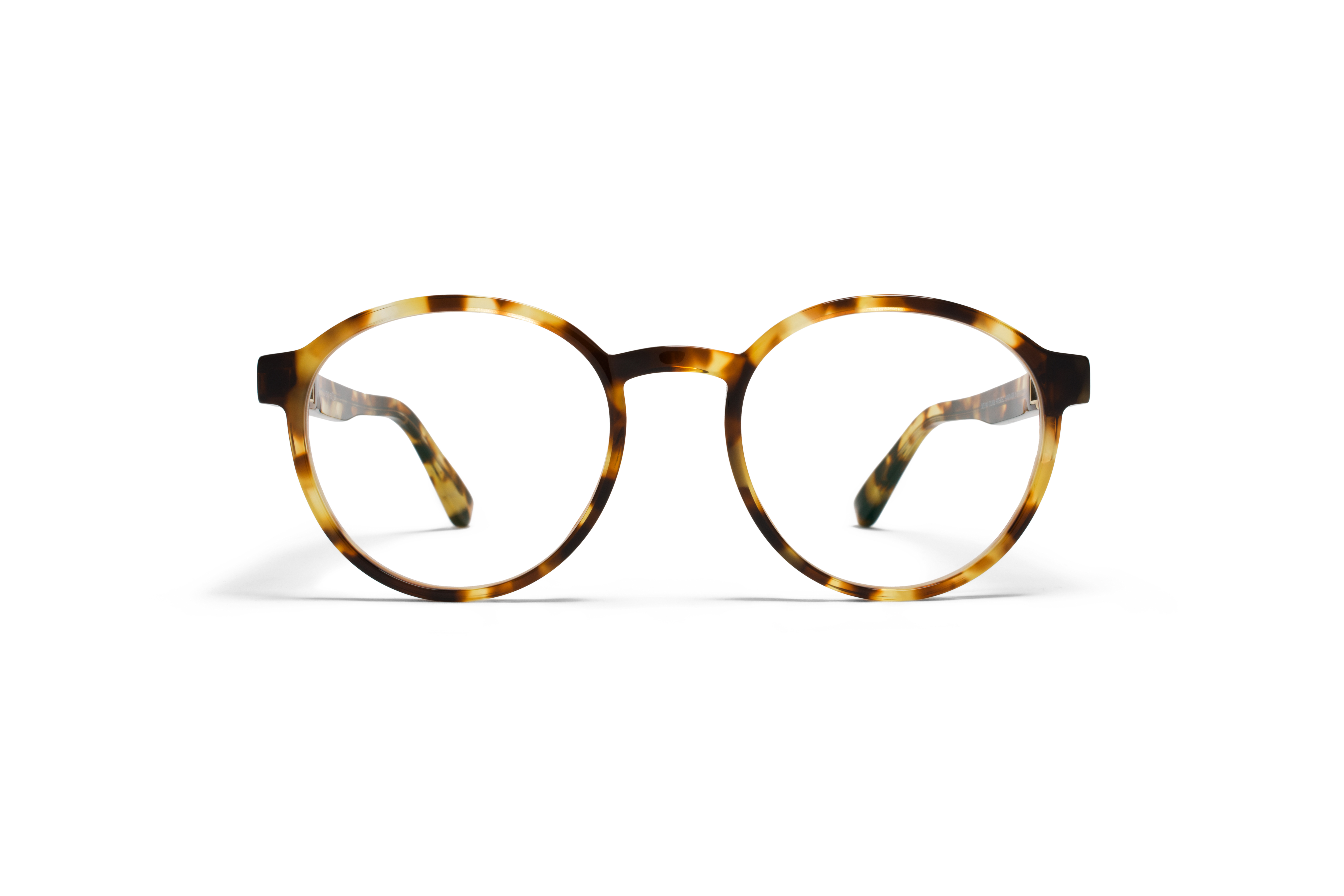 MYKITA No2 Rx Percy Cocoa Sprinkles Clear
