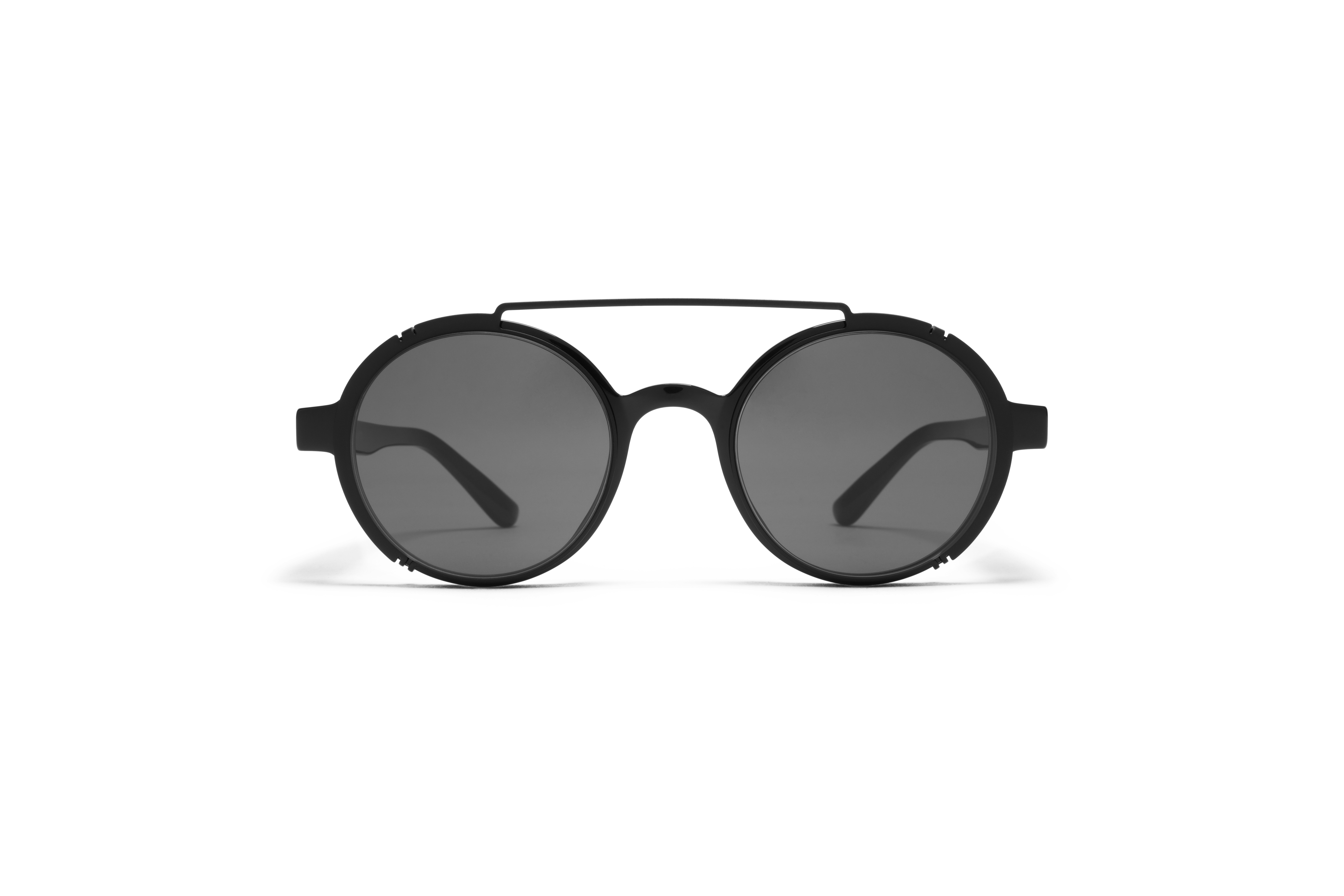 MYKITA No2 Sun Gigi Black Darkgrey Solid P5758498b33565