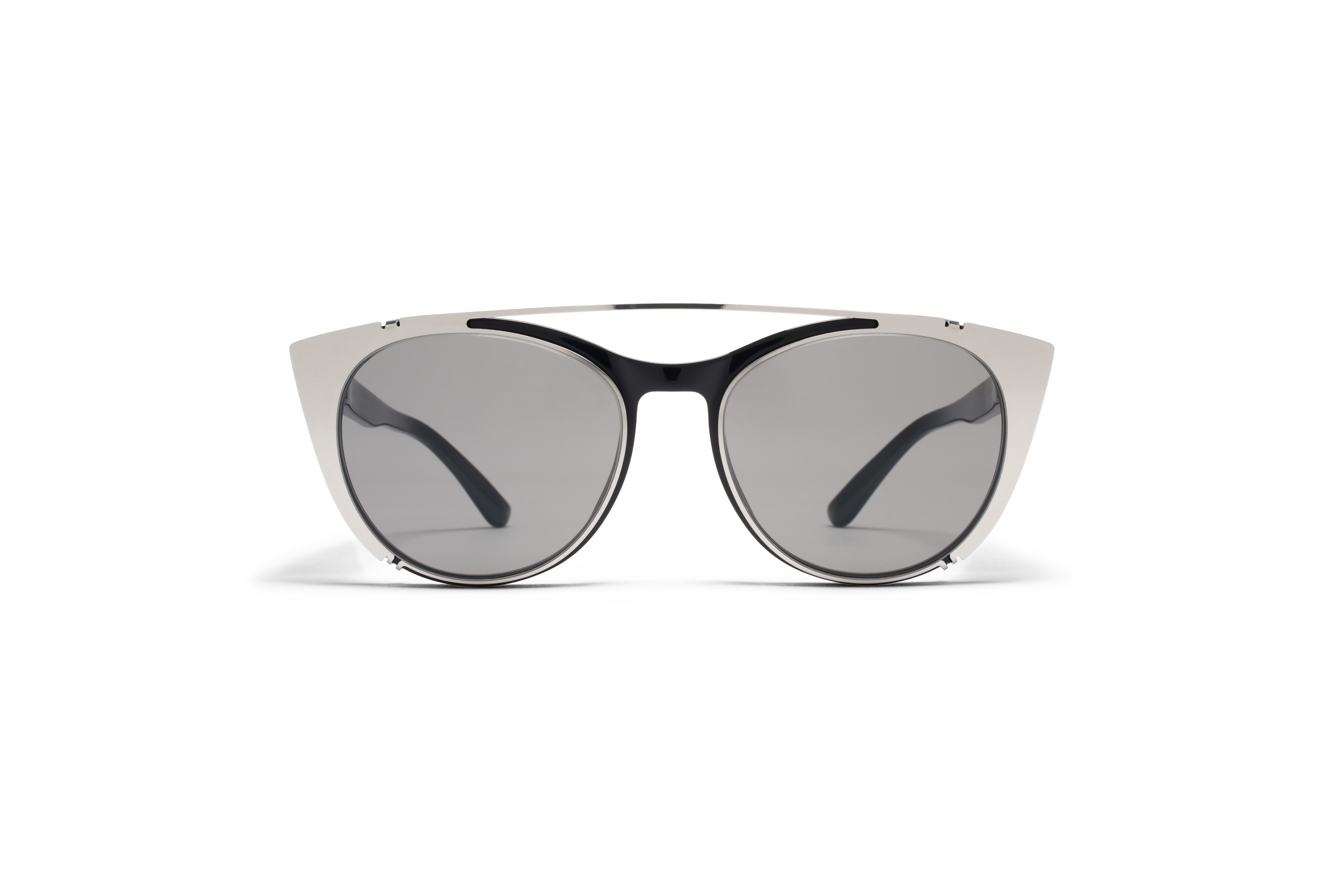 MYKITA No2 Sun Teresa Black Dark Grey Solid