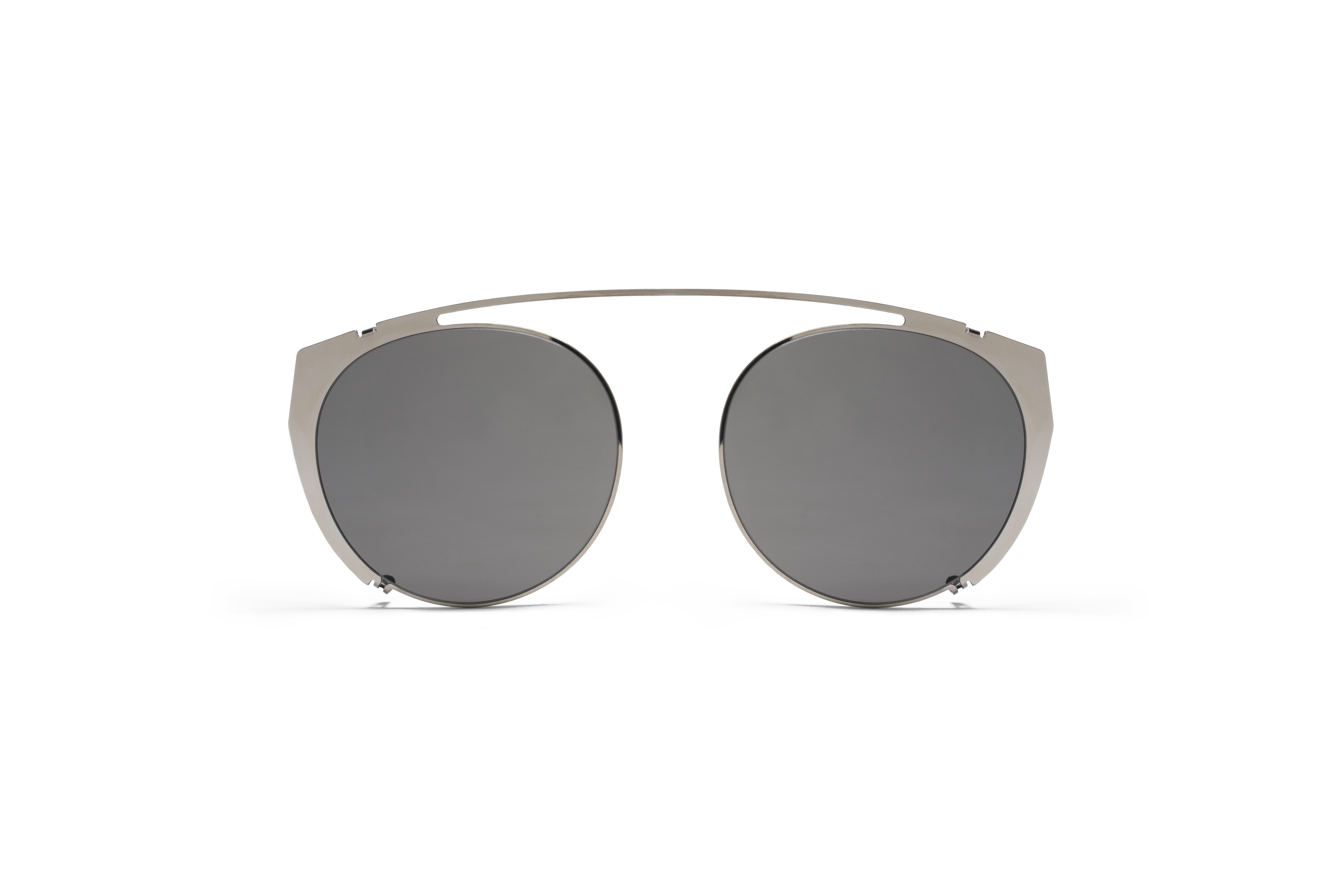 MYKITA No2 Tatum Shinysilver Grey Solid
