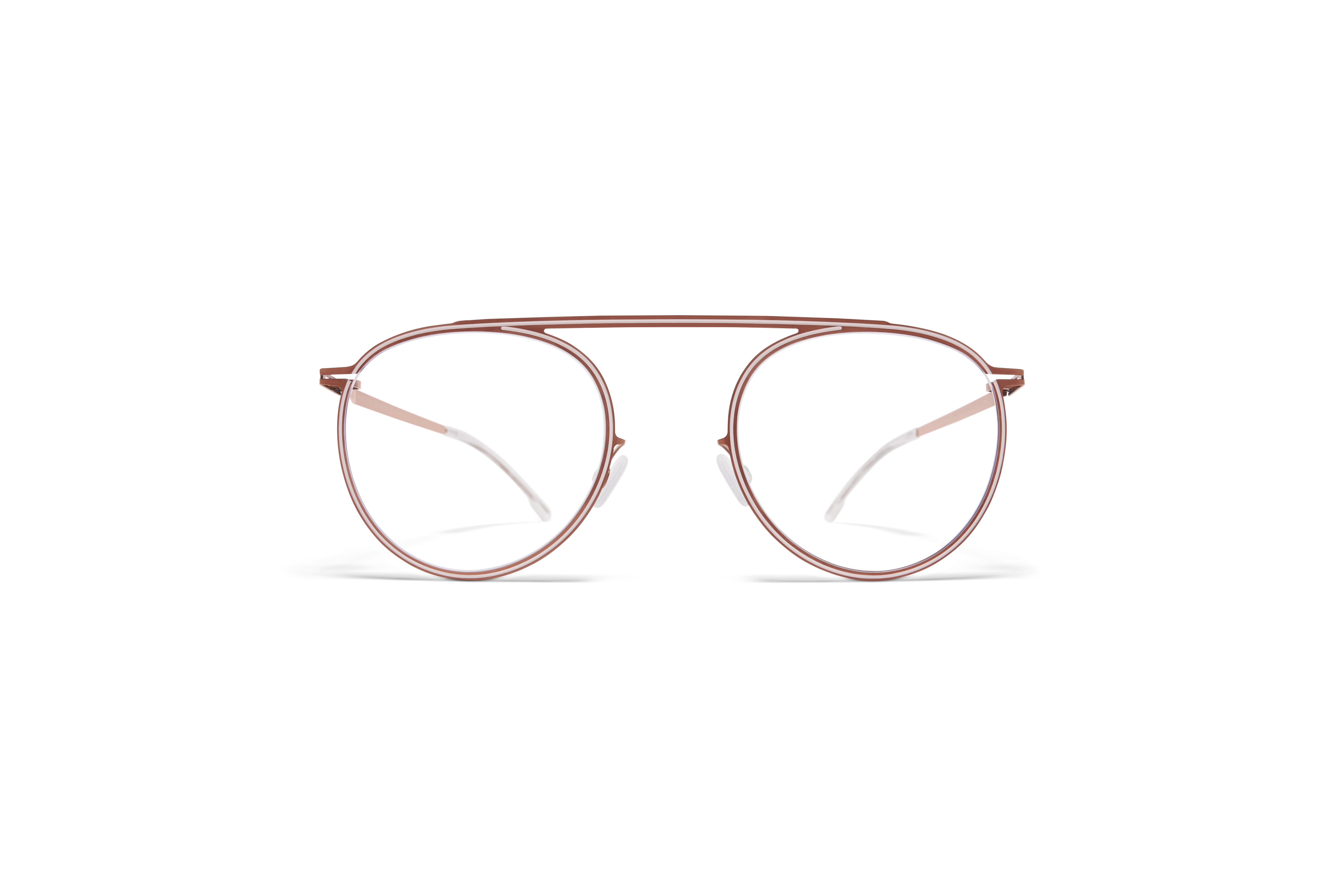 MYKITA Studio Rx Studio6 Shiny Copper Aurore Clear