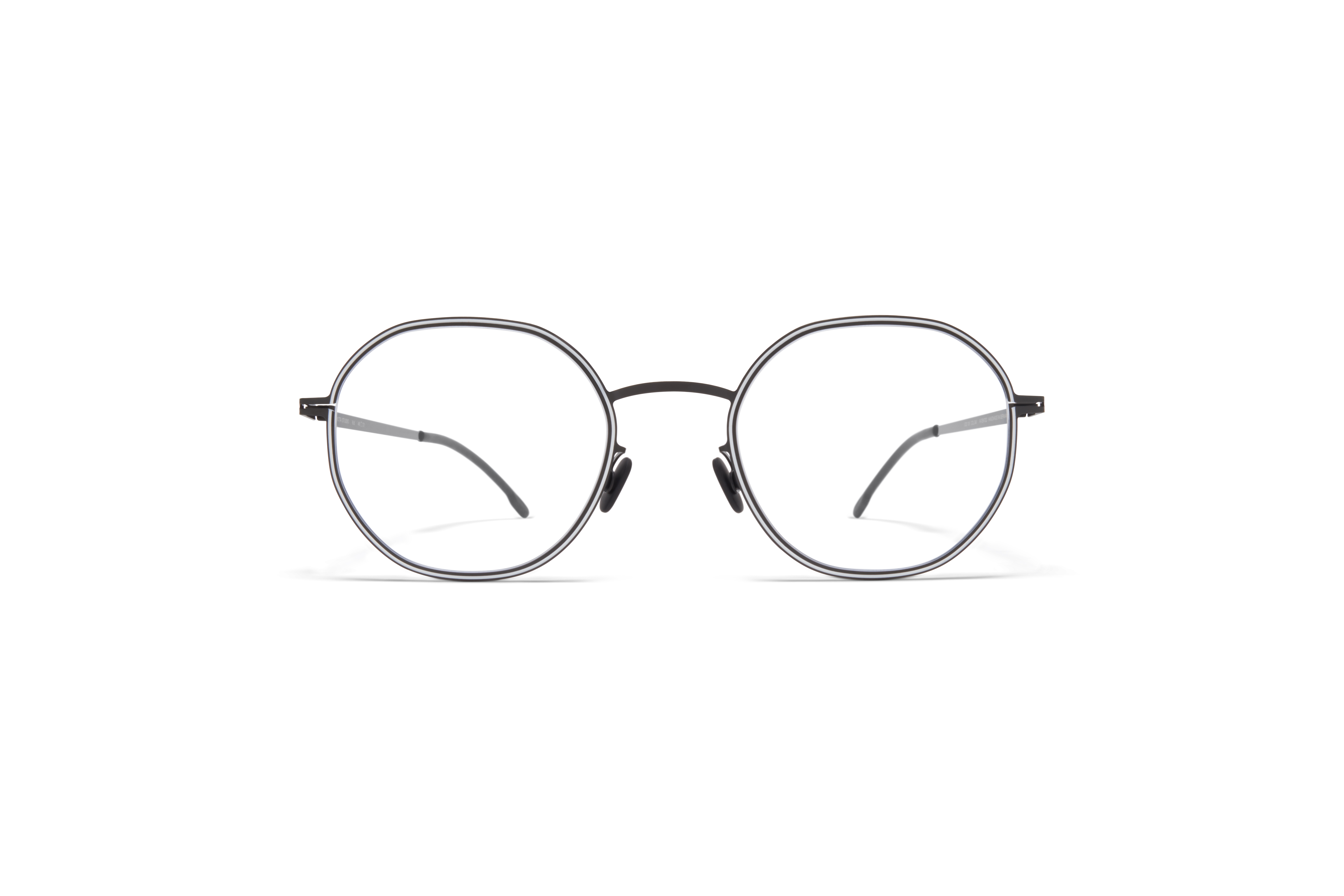 MYKITA Studio Rx Studio6 Shiny Black White Clear