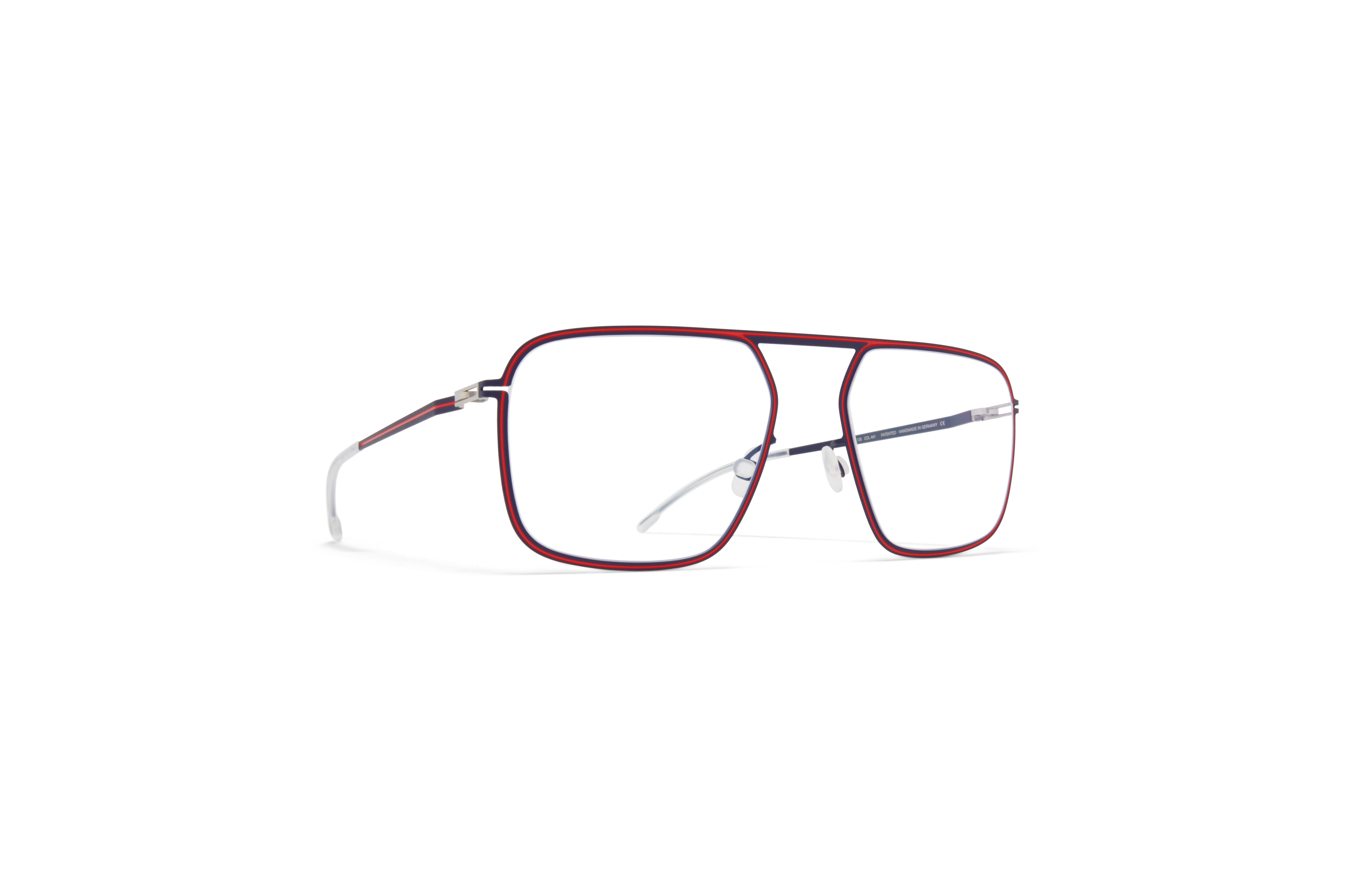 MYKITA Studio Rx Studio6 Indigo Rusty Red Clear