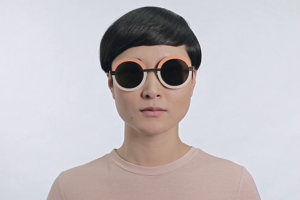 Studio 4.3 Sunglasses in Tangerine Des Mod Acetate and Metal Mykita 7TZGYdo7tC
