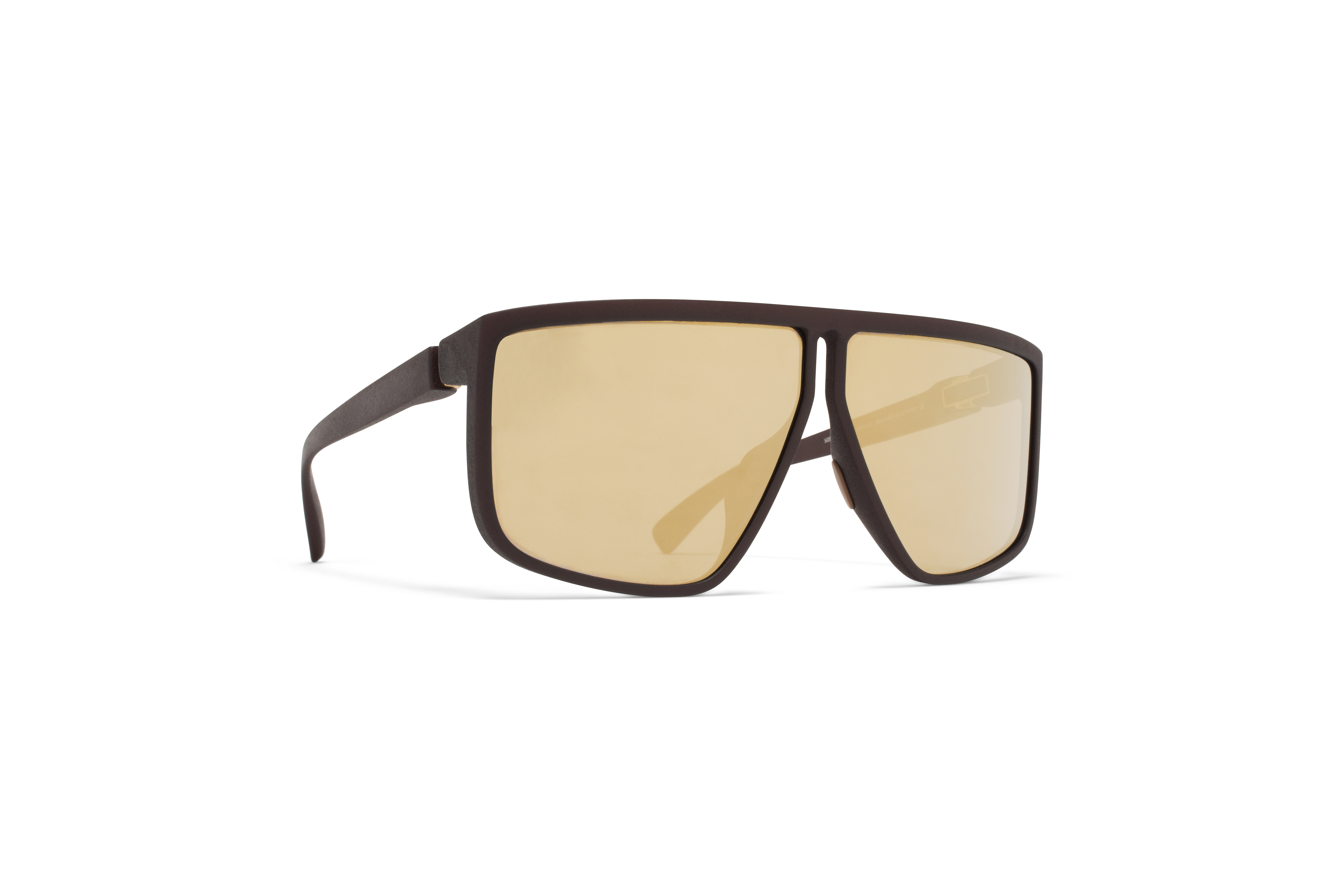 MYKITA Tc Tequilita Md22 Ebony Brown Gold Shiled