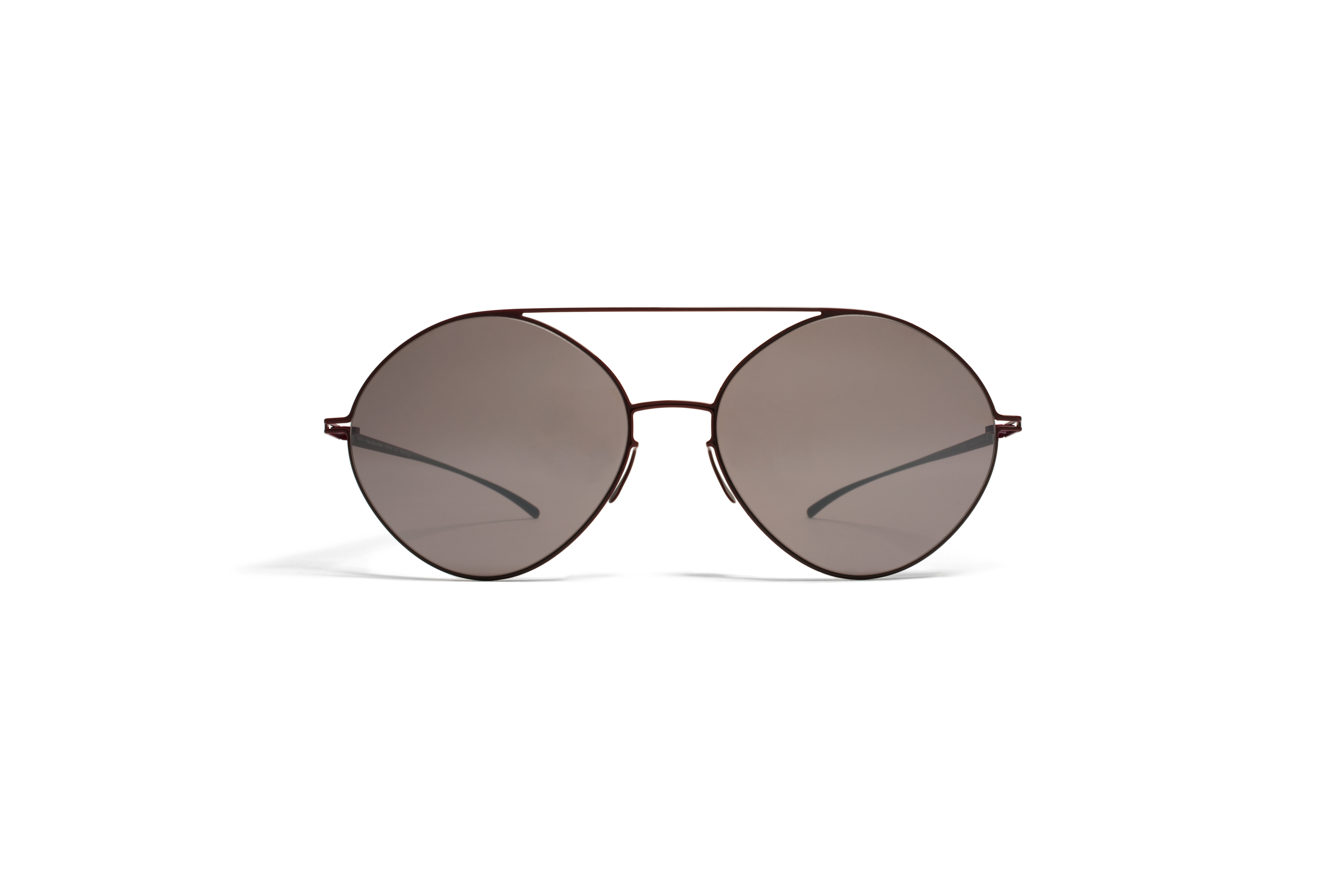 MYKITA Collmmm Sun Mmesse008 E7 Red Darkpurple Fla54f0d10786822