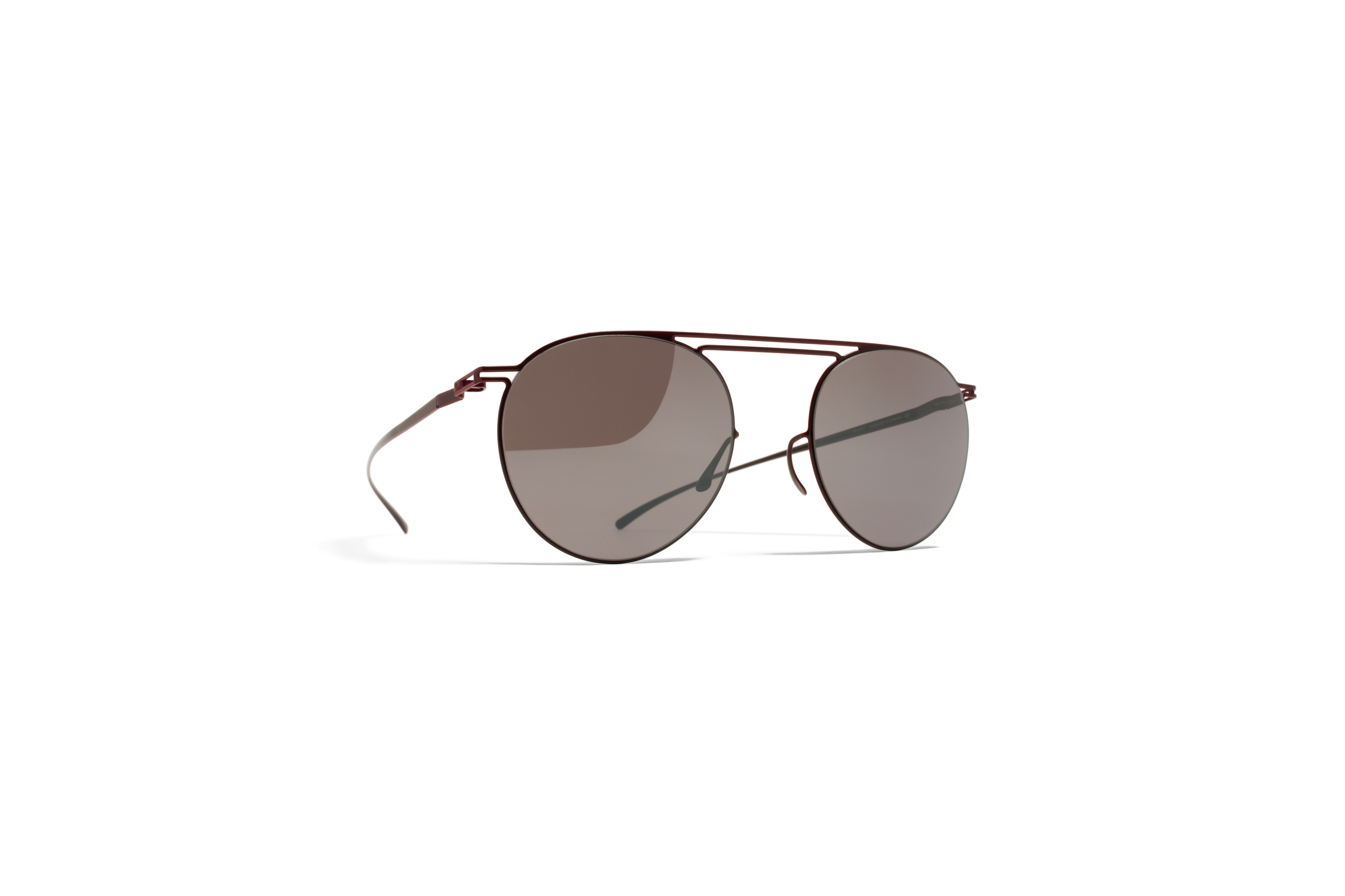 MYKITA Collmmm Sun Mmesse009 E7 Red Darkpurple Fla
