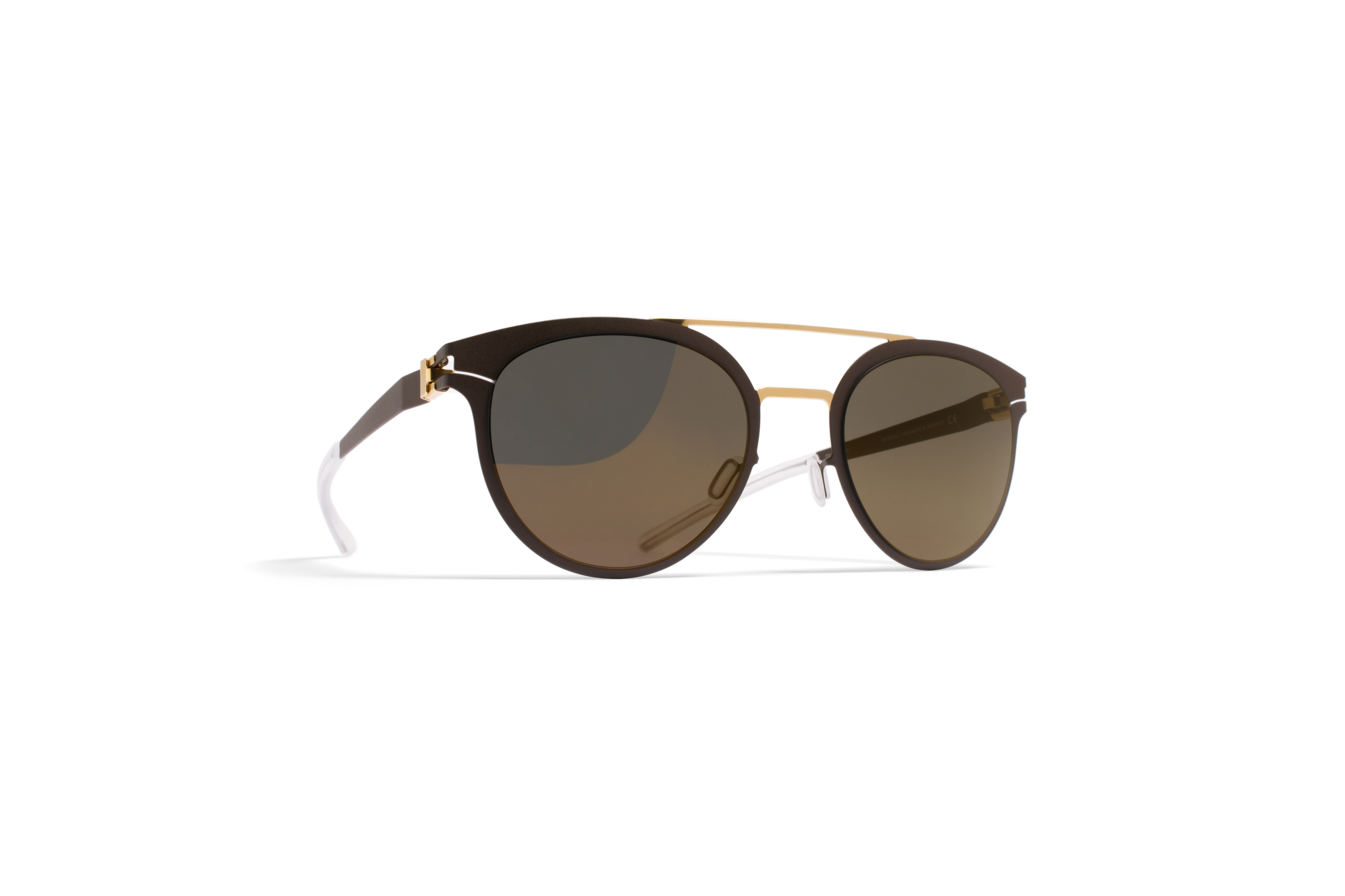 MYKITA Decades No1 Sun Dash Gold Terra Brilliantgr