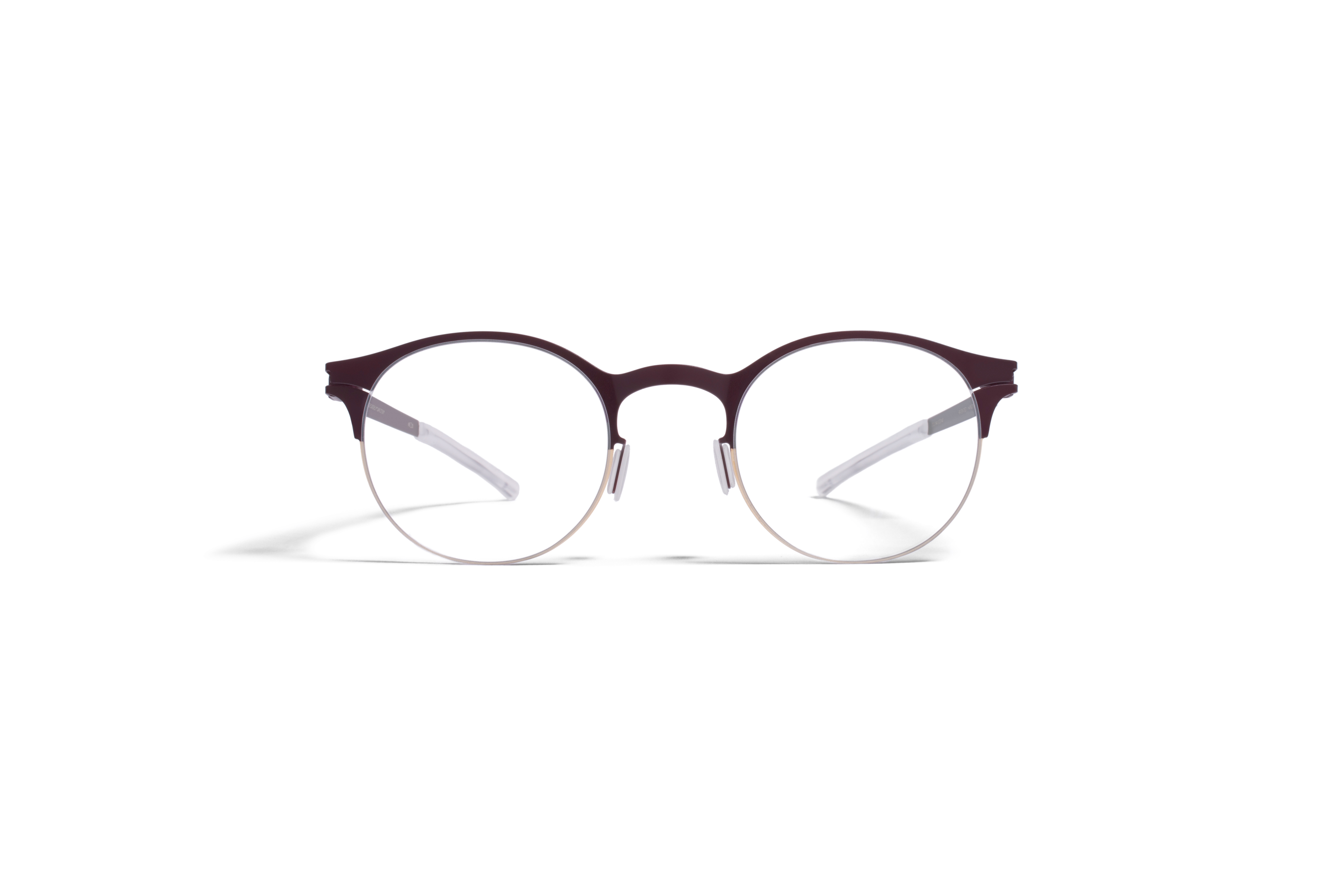 MYKITA Decades Rx Carlton Gold Burgundy