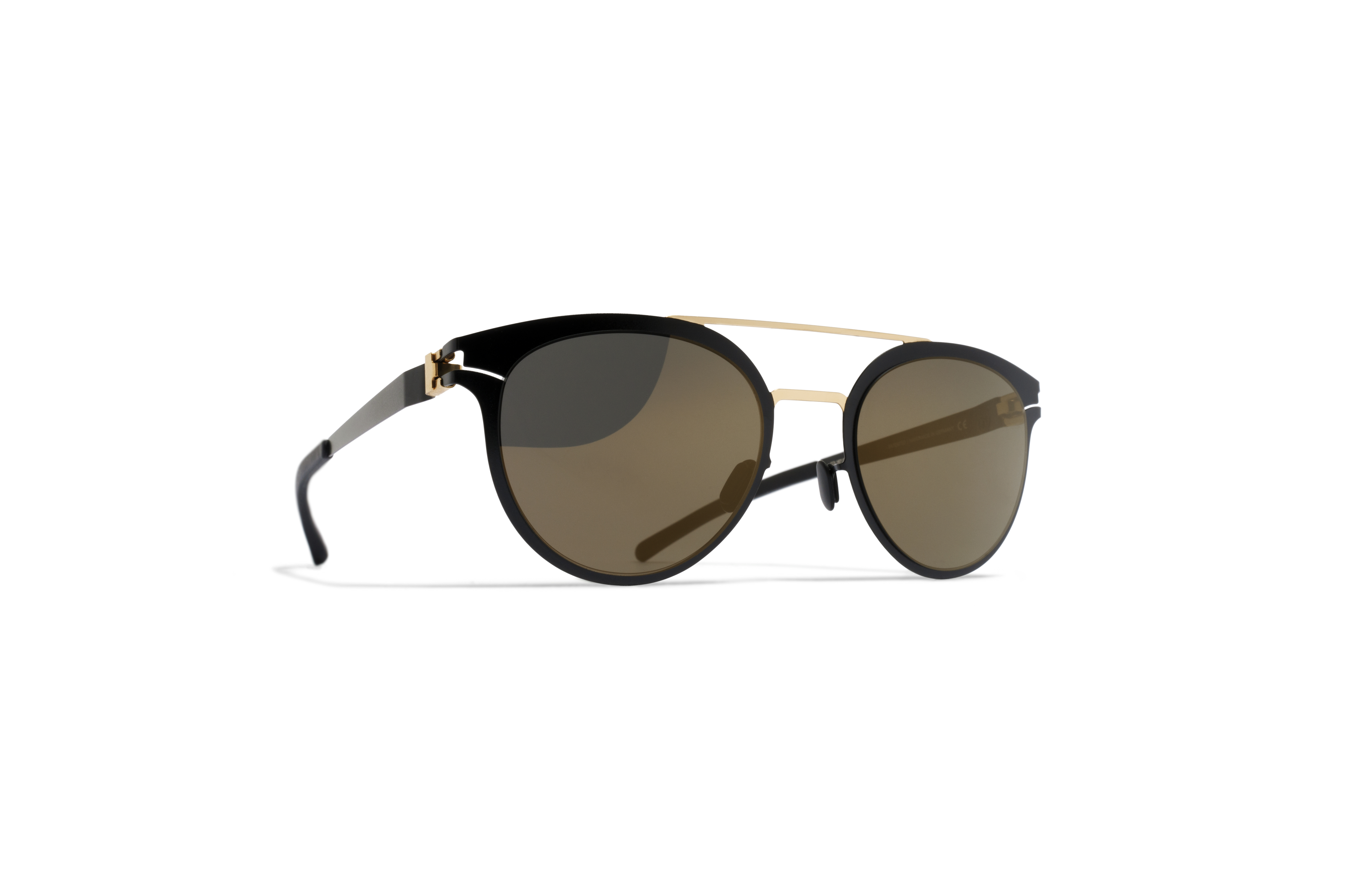MYKITA Decades Sun Dash Gold Jetblack