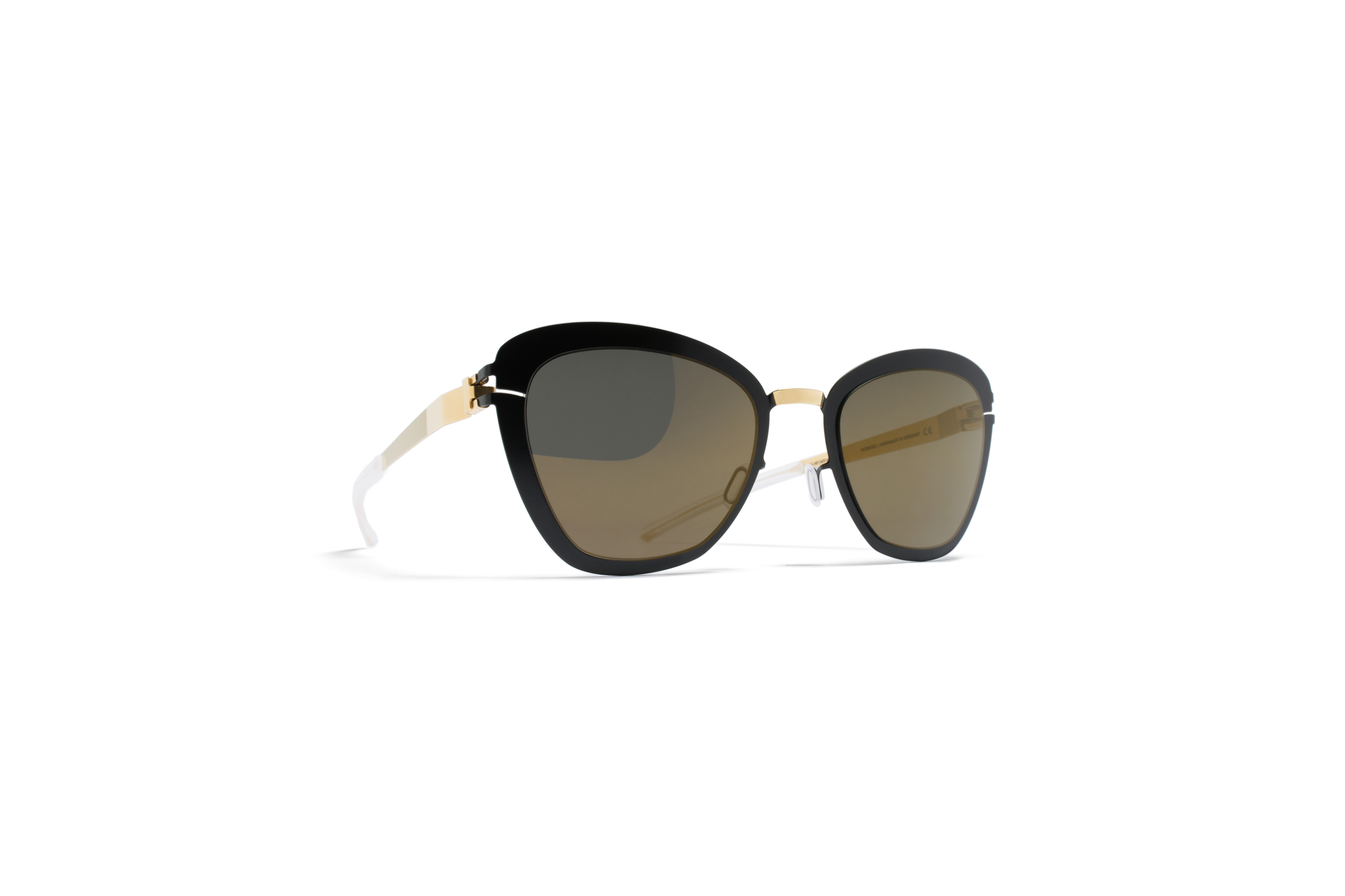 MYKITA Decades Sun Joseppa Gold Jetblack Brilliant