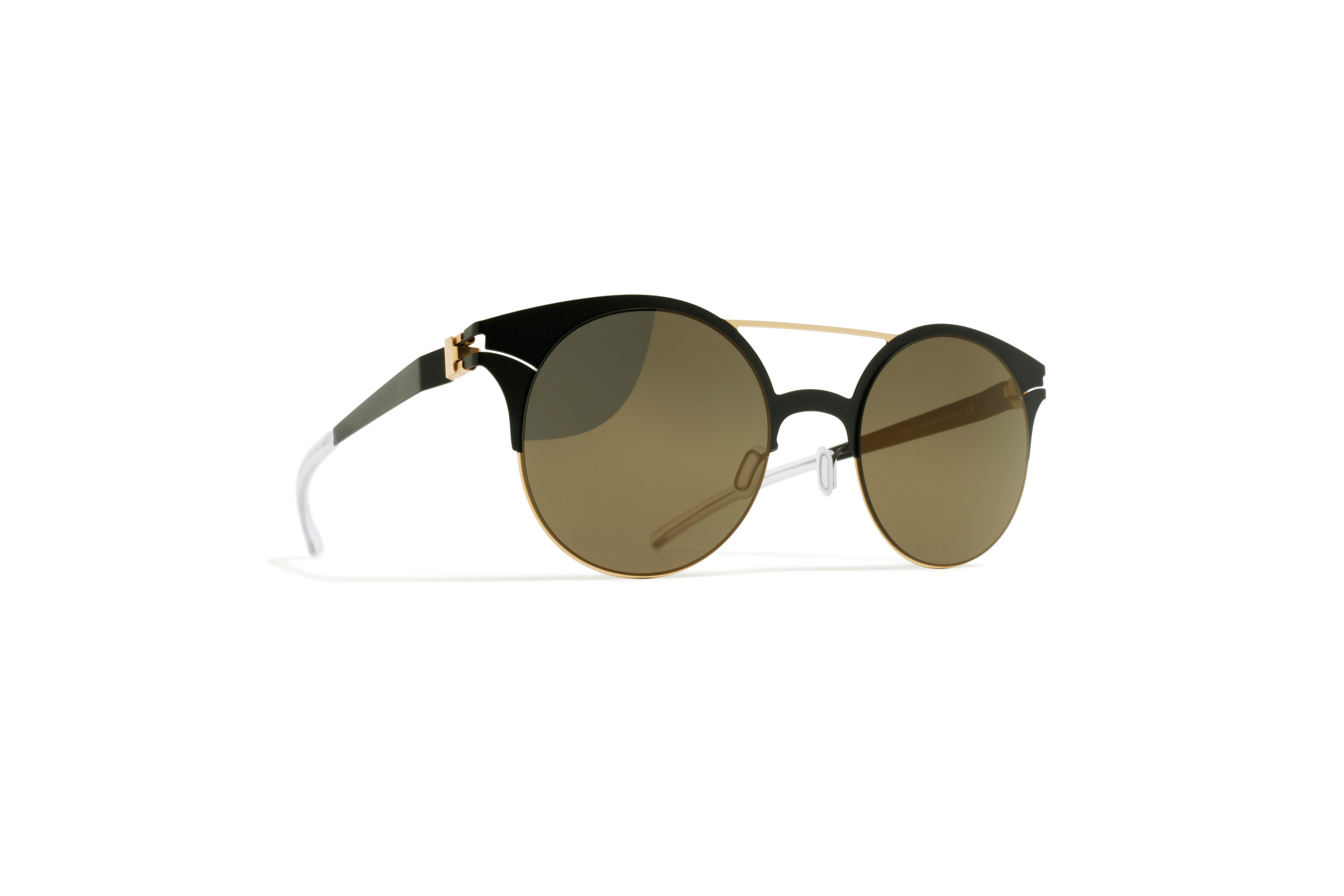 MYKITA Decades Sun Philomene Gold Jetblack