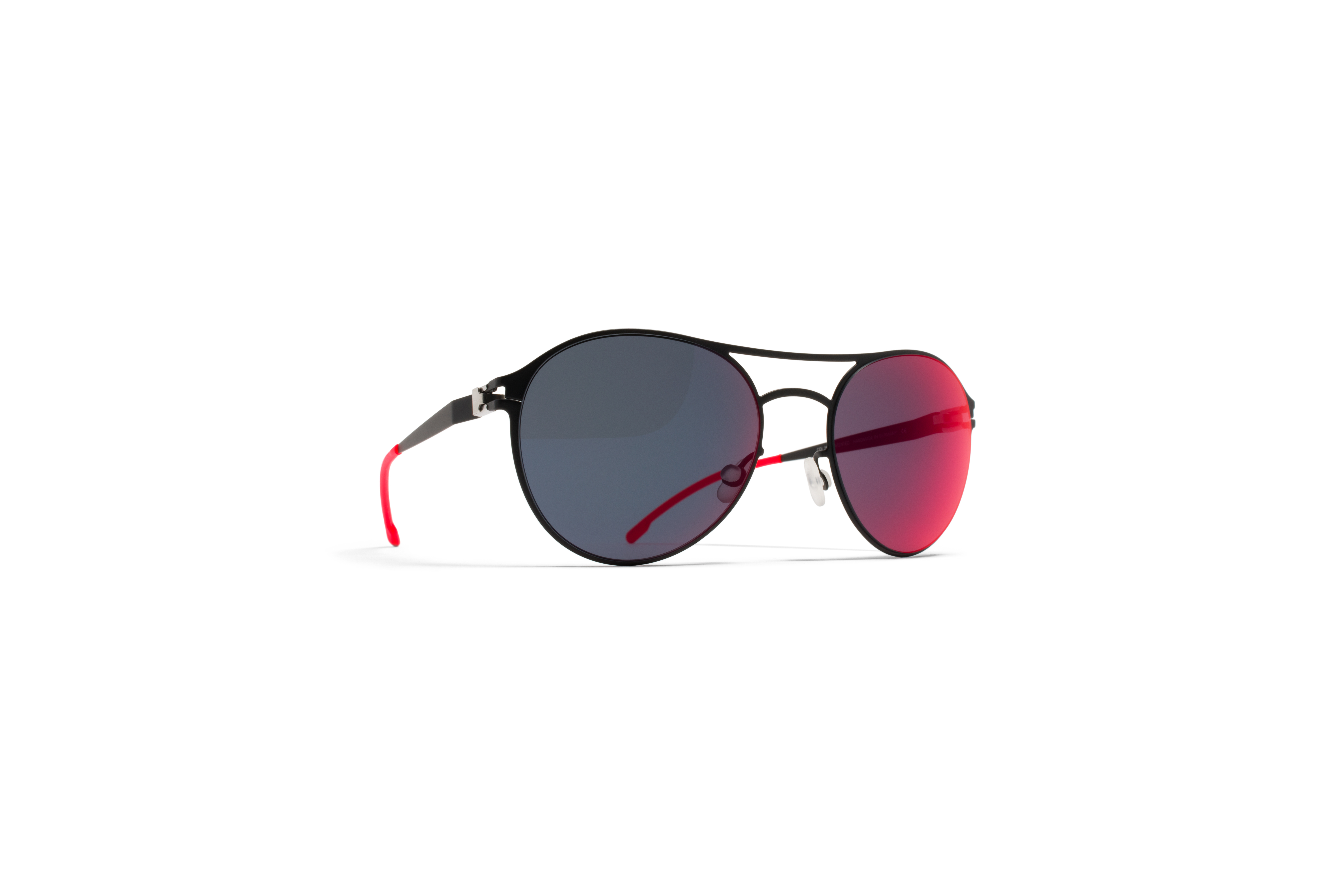 MYKITA First Sun Sparrow R1 Black Scarlet Flash