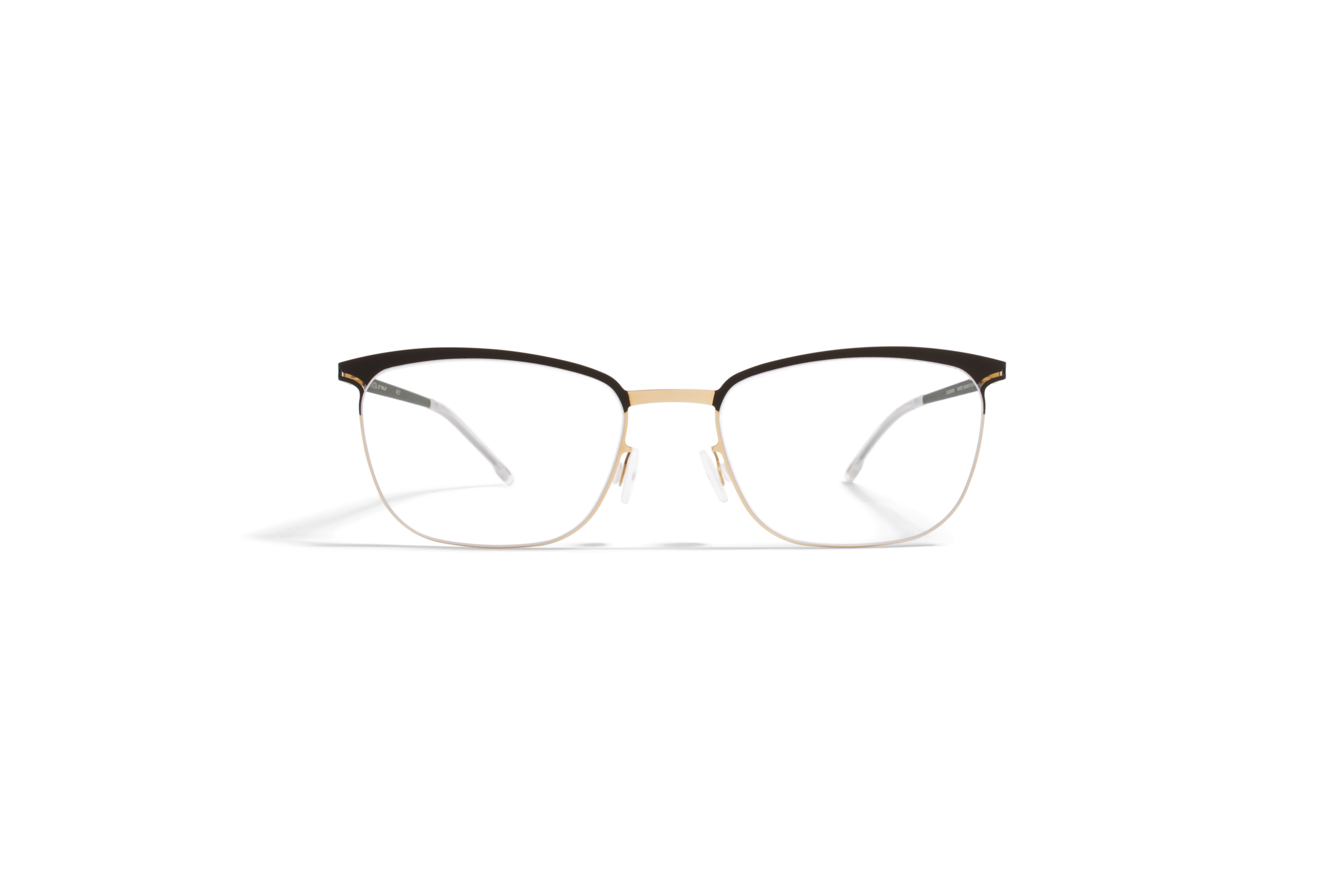 MYKITA Lite Rx Smilla Gold Darkbrown