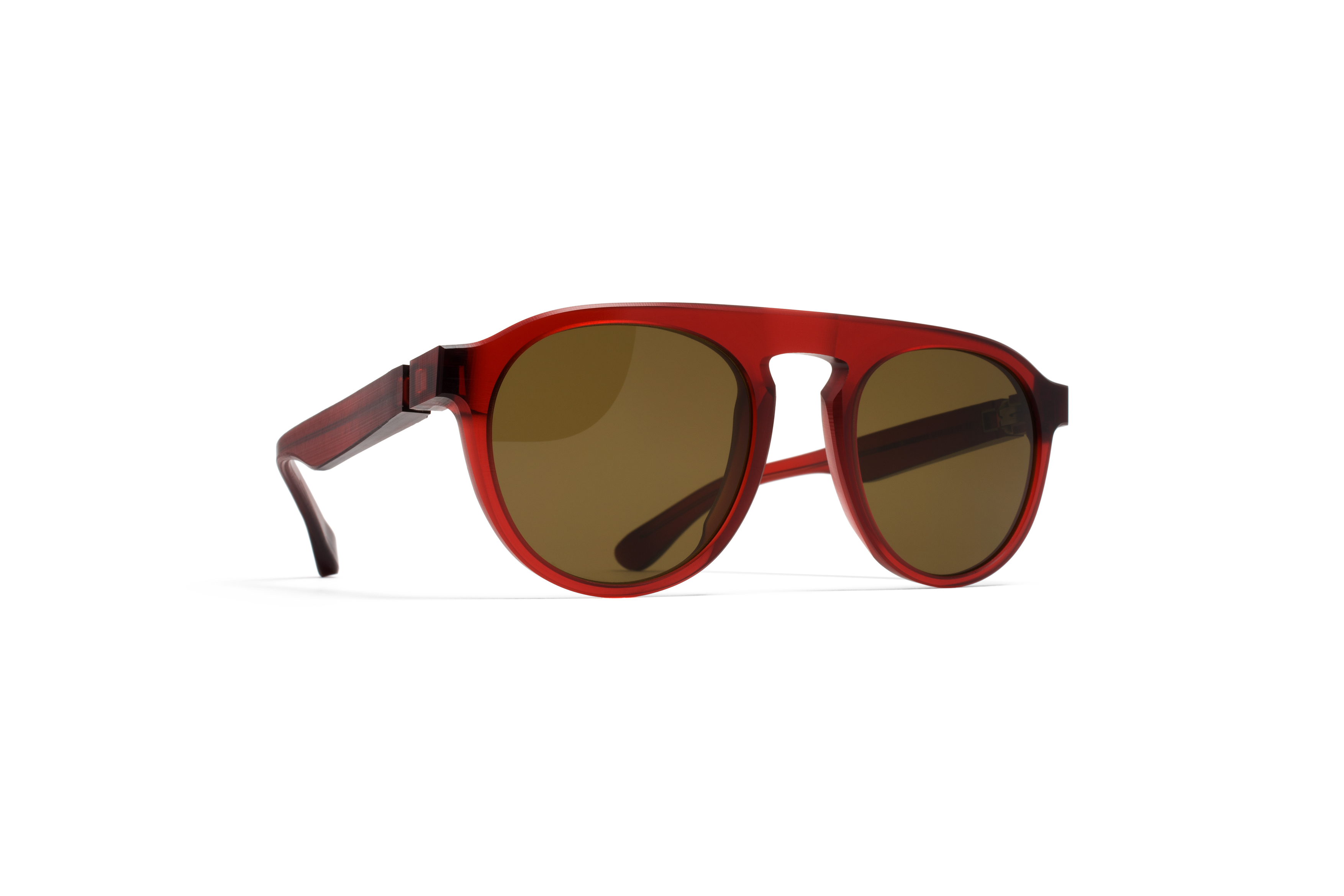 MYKITA Mm Sun Mmraw001 Raw Ruby Rawbrown Solid