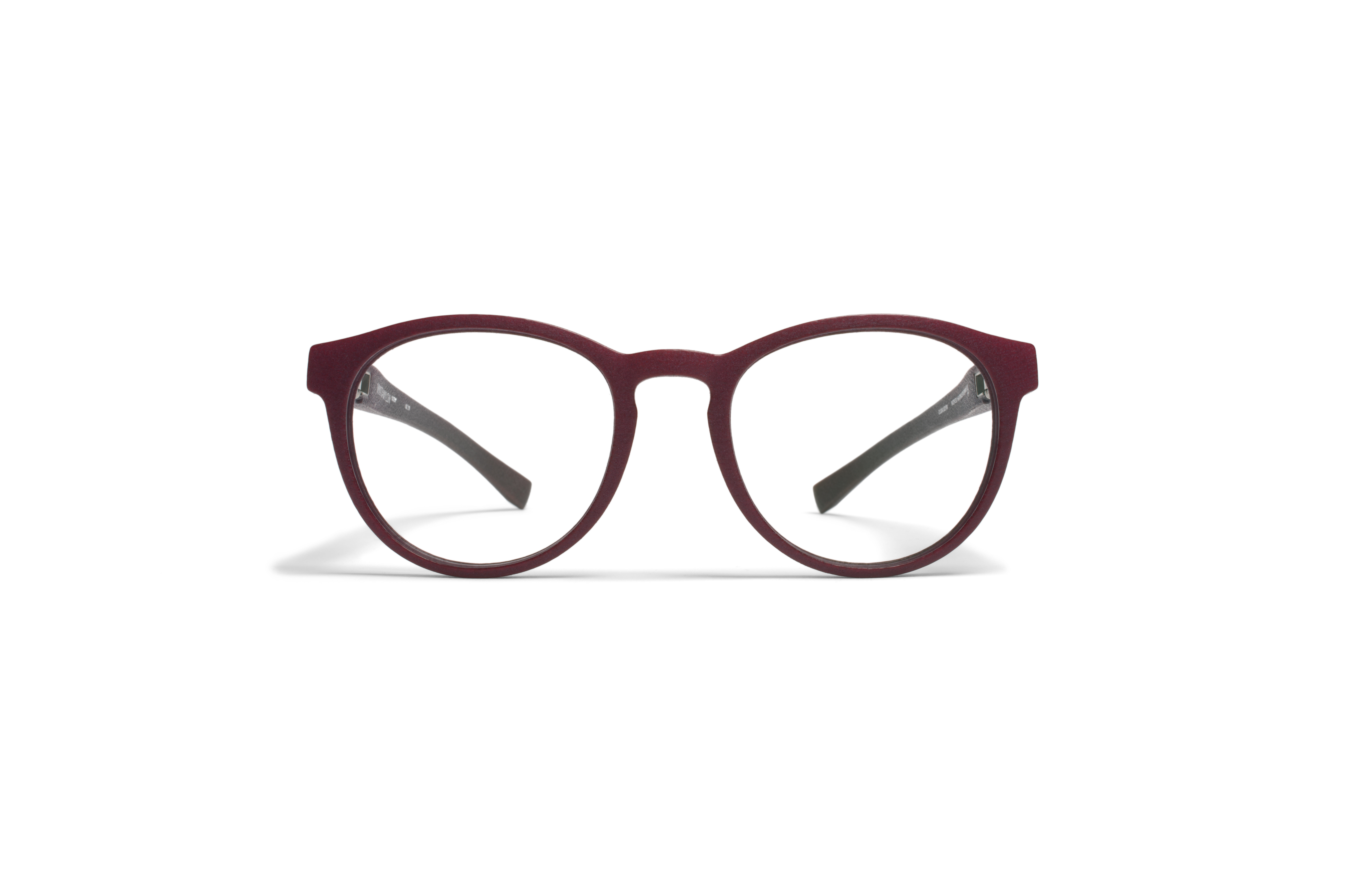 MYKITA Mylon Rx Aster Md24 New Aubergine Clear