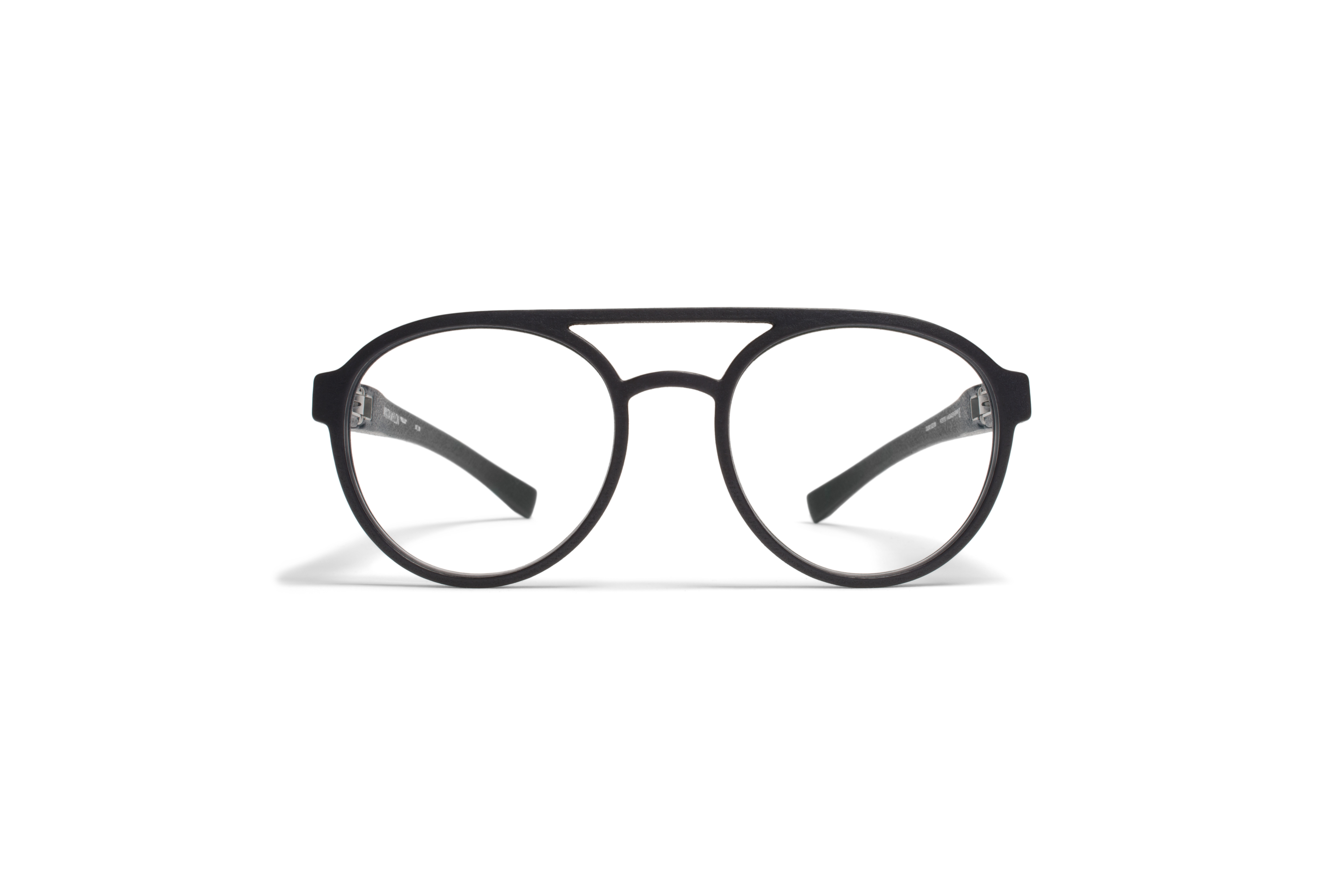 MYKITA Mylon Rx Pollux Md1 Pitch Black Clear