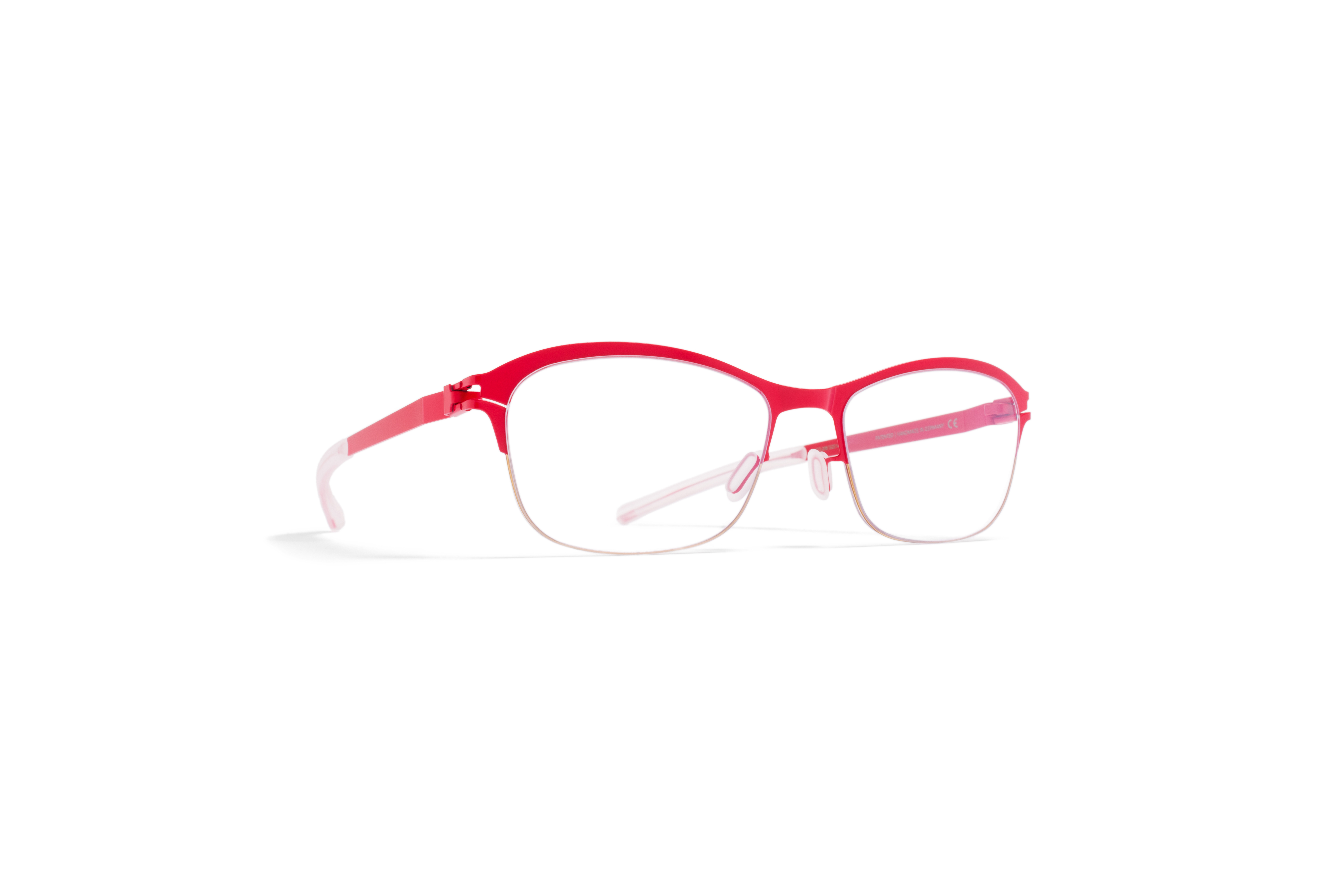MYKITA No1 Rx Lil Gold Realred Clear